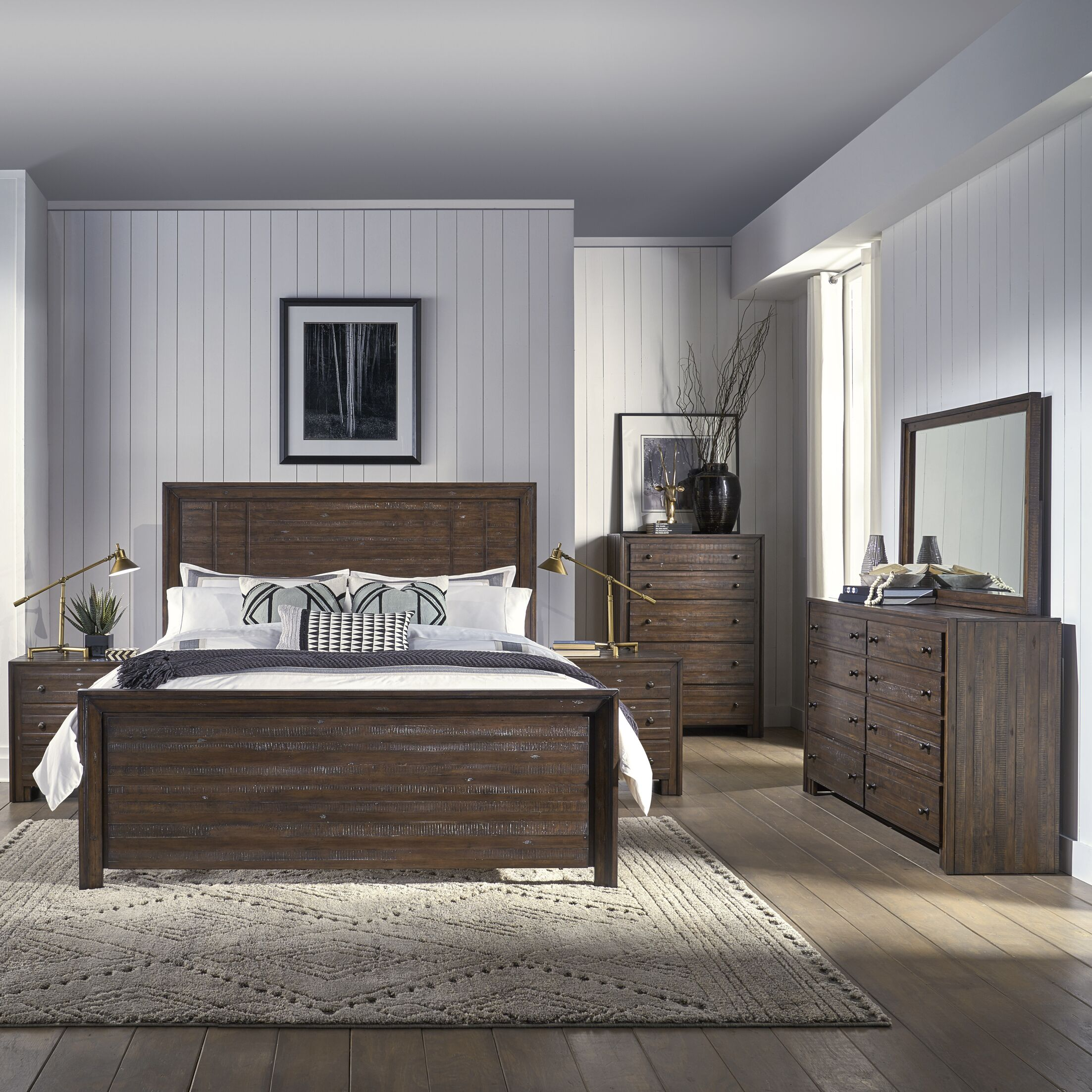 Van Reipen Platform Bed Size: King