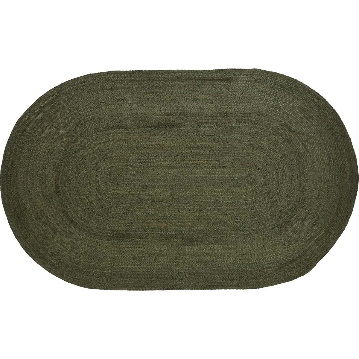 Regina Rustic & Lodge Flooring Oval Rug Rug Size: 60x96