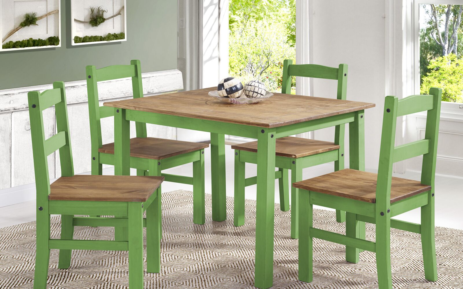 Dining Table Sets Rodgers Solid Wood 5 Piece Dining Set