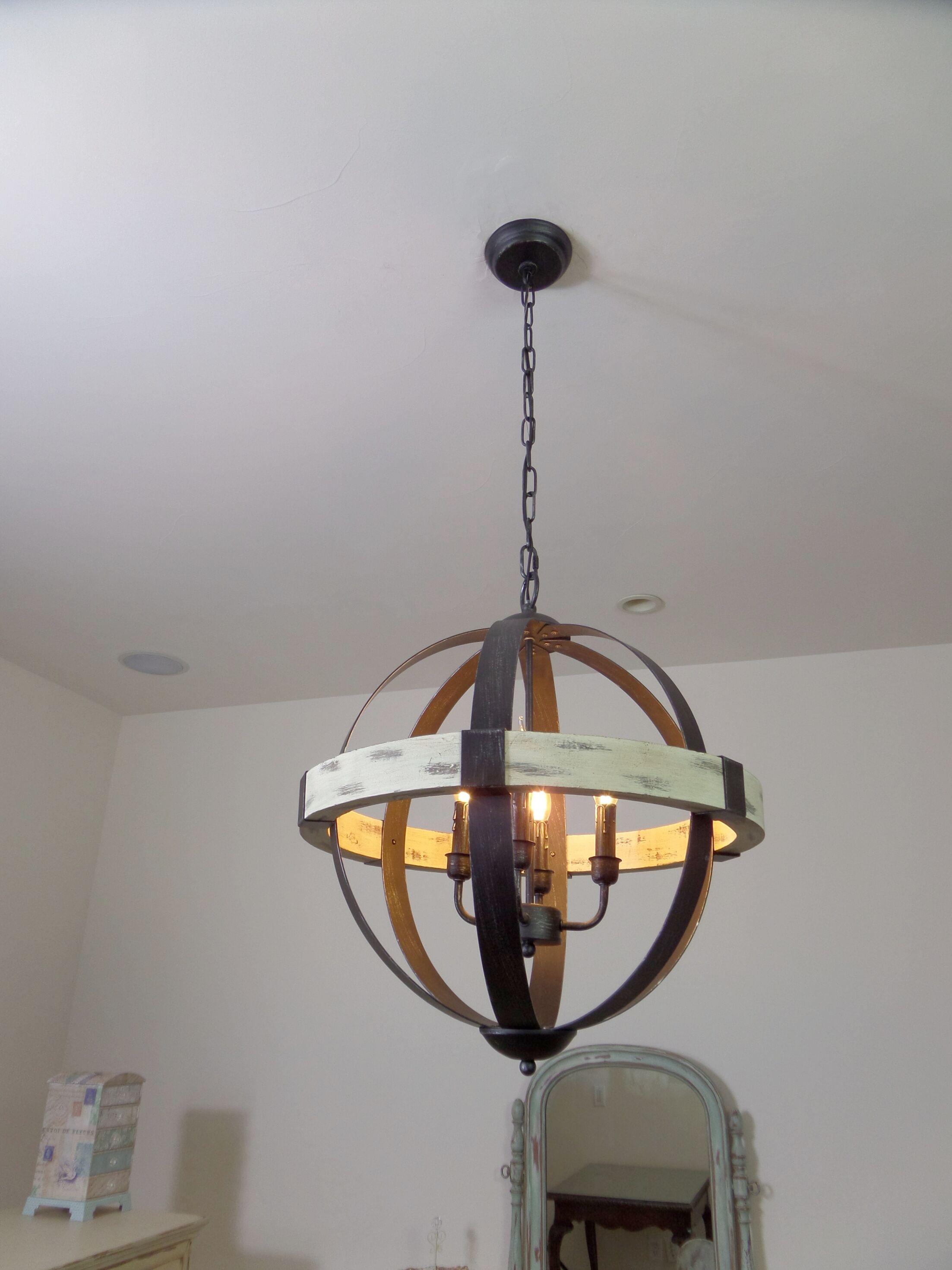 Manelle 4-Light Globe Chandelier