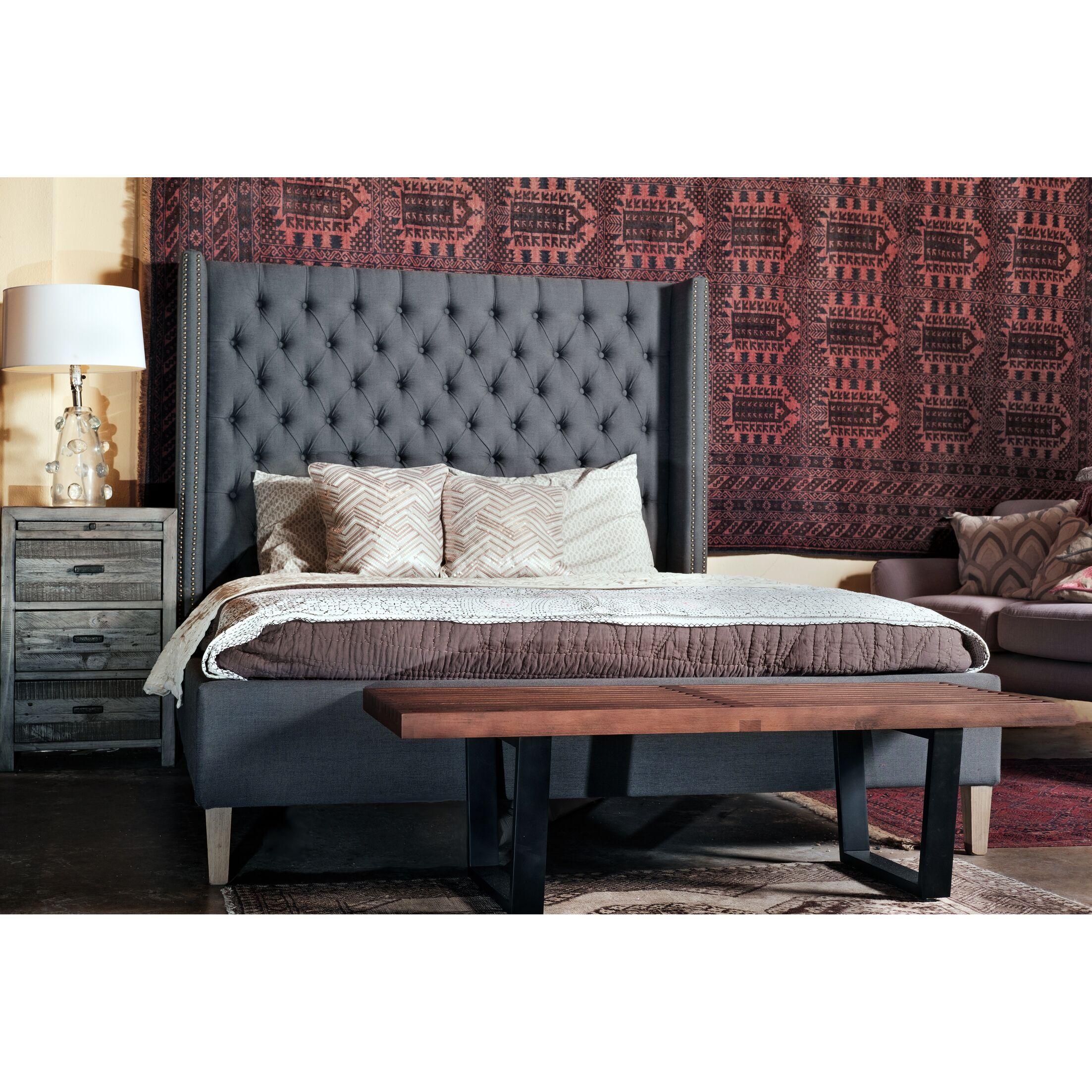 Webb Queen Upholstered Sleigh Bed