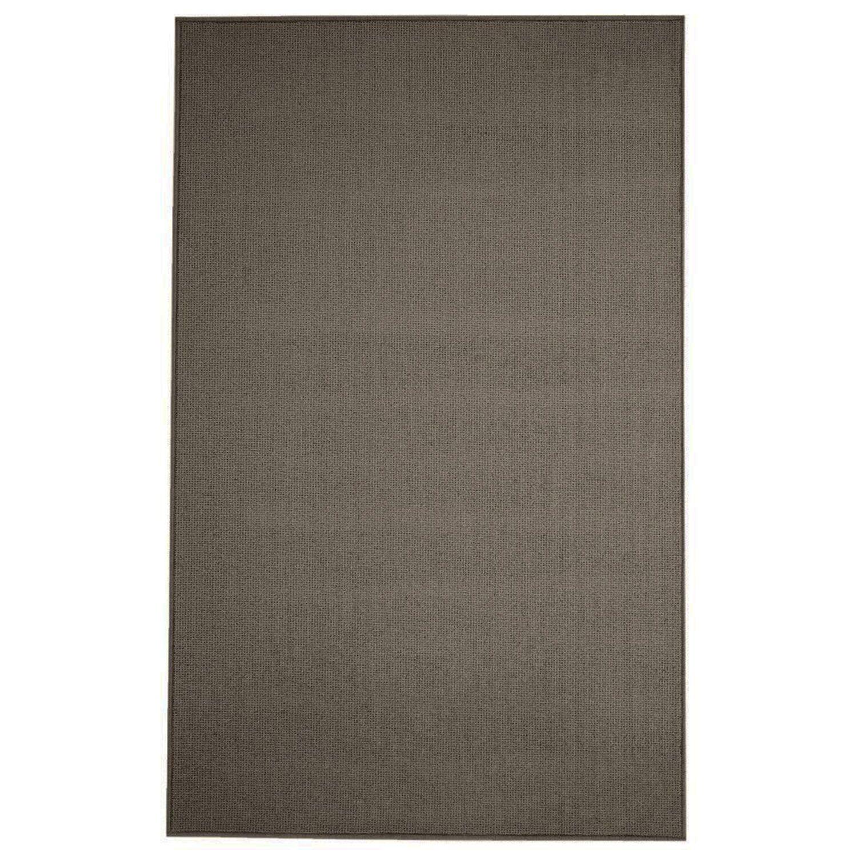 Pamela Wool Dark Brown Area Rug Rug Size: 6' x 9'