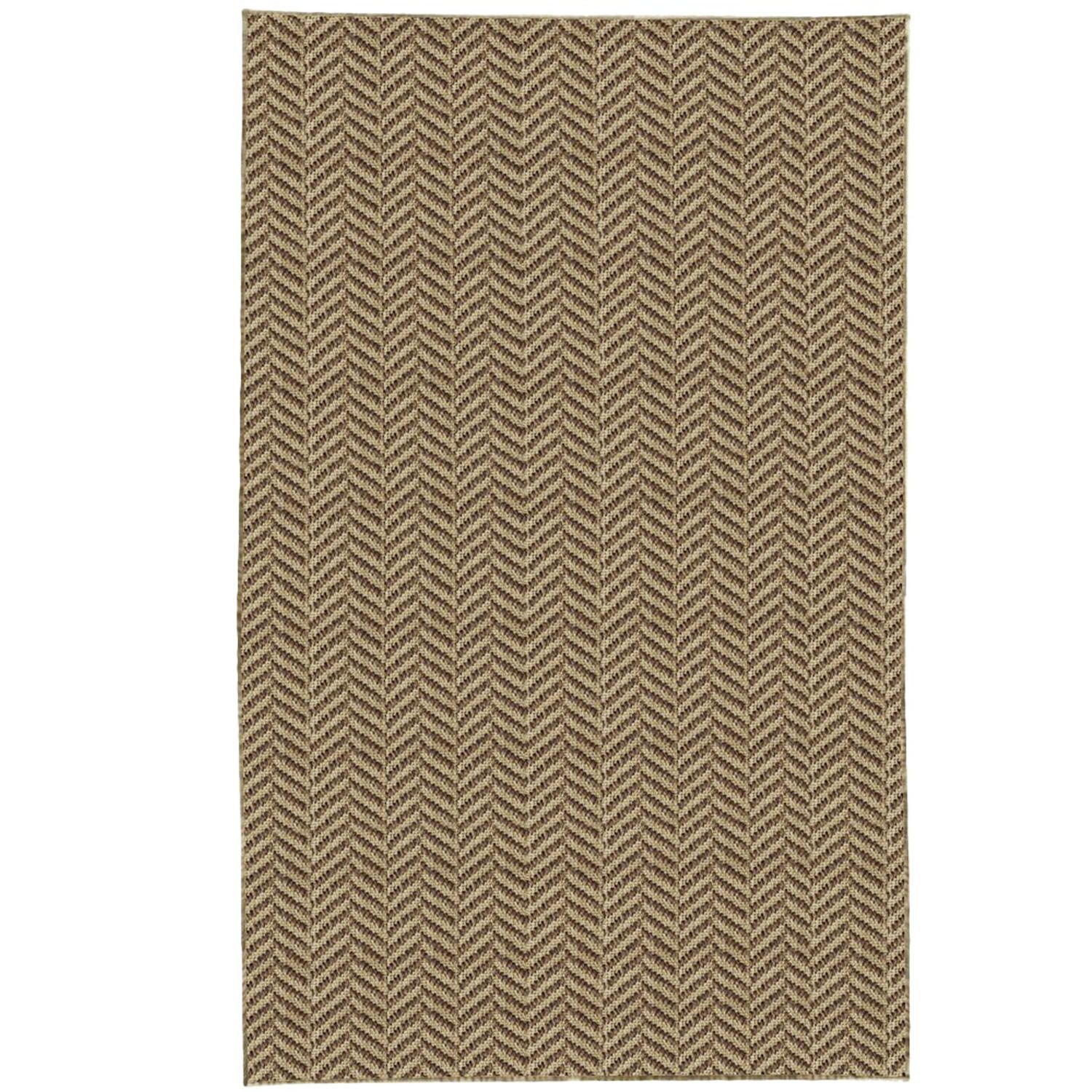 Paige Brown Area Rug Rug Size: 8' x 10'