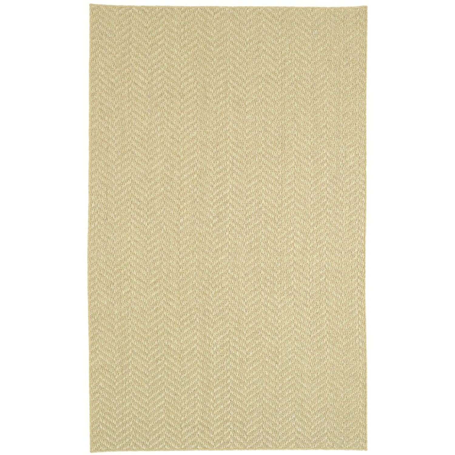 Paige Natural Area Rug Rug Size: 6' x 9'