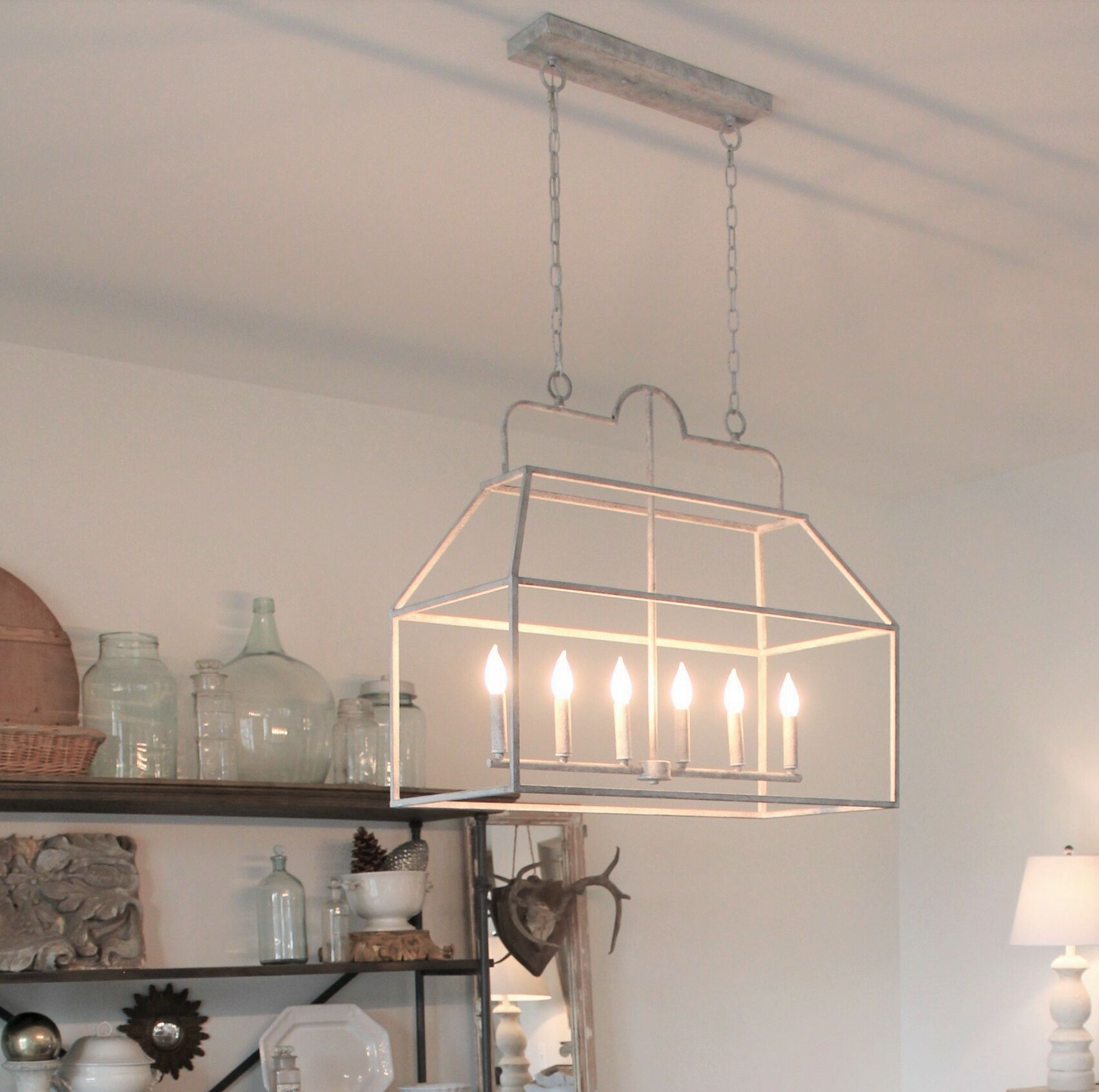 Losh 6-Light Kitchen Island Pendant