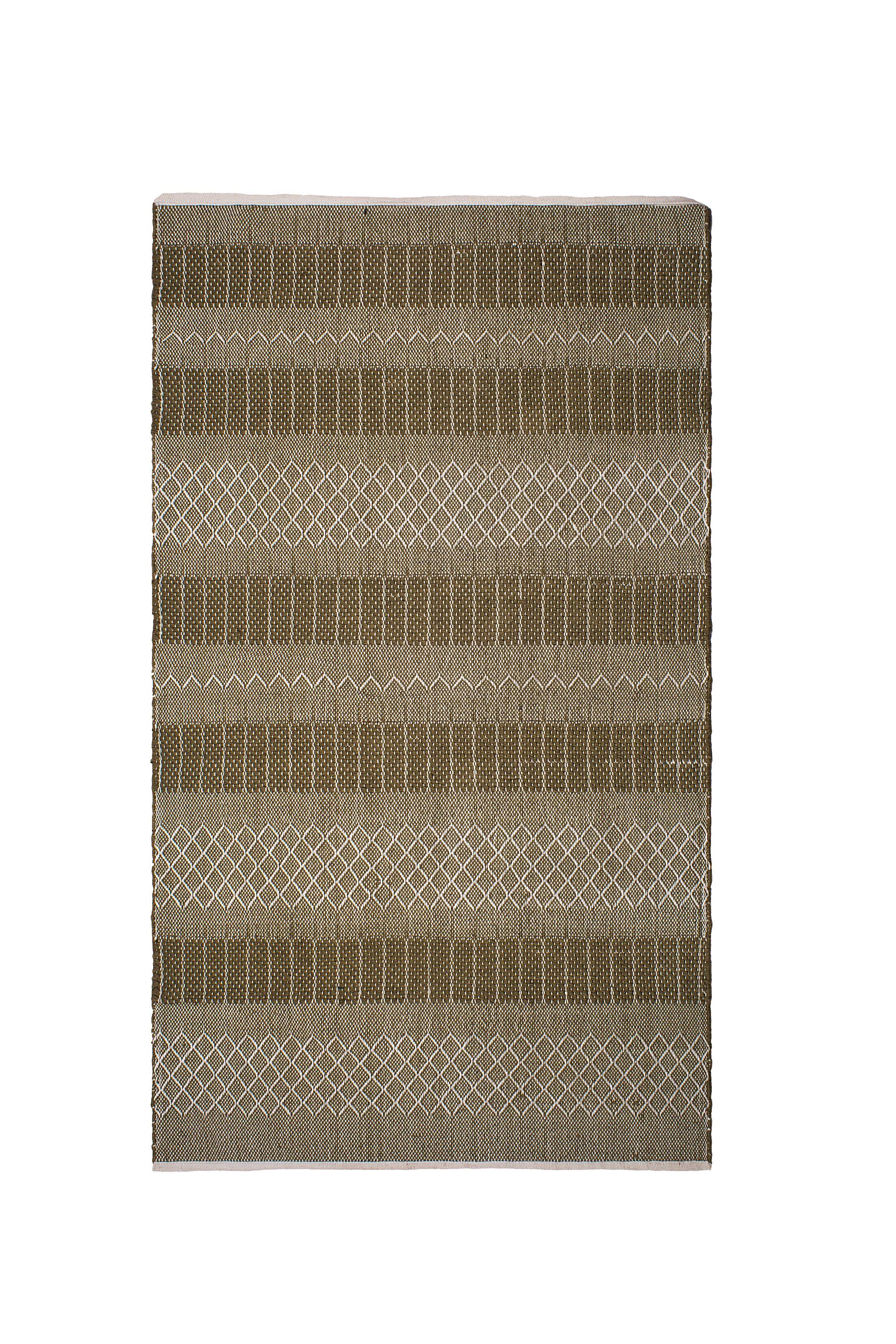 Marciano Hand-Woven Green Indoor/Outdoor Area Rug Rug Size: Rectangle 3' x 5'