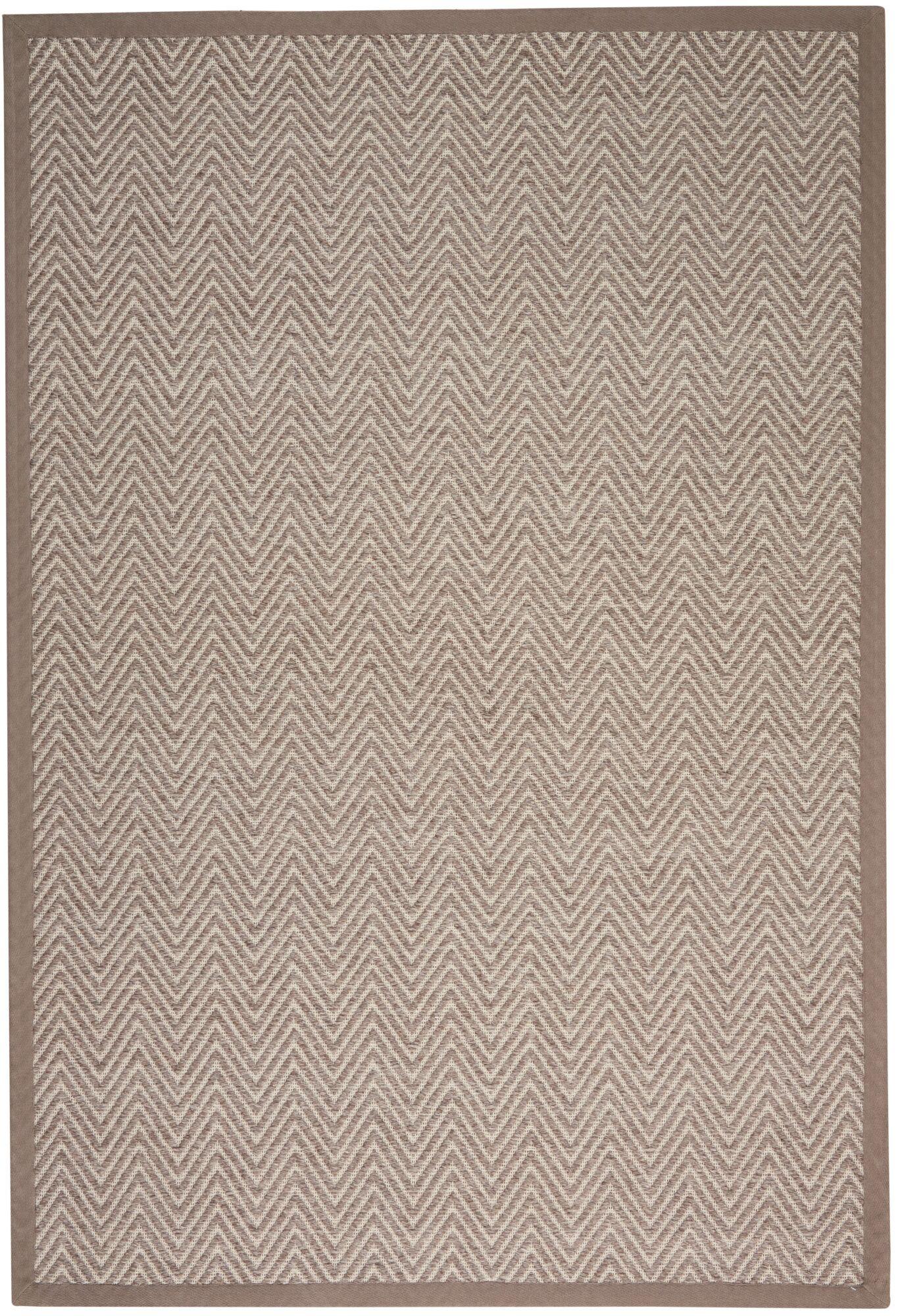 Uleena Hand-Woven Flannel Area Rug Rug Size: Rectangle 5' x 7'6
