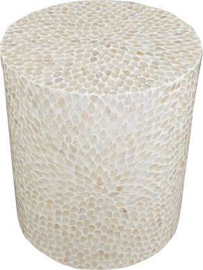 Germain End Table Color: Natural