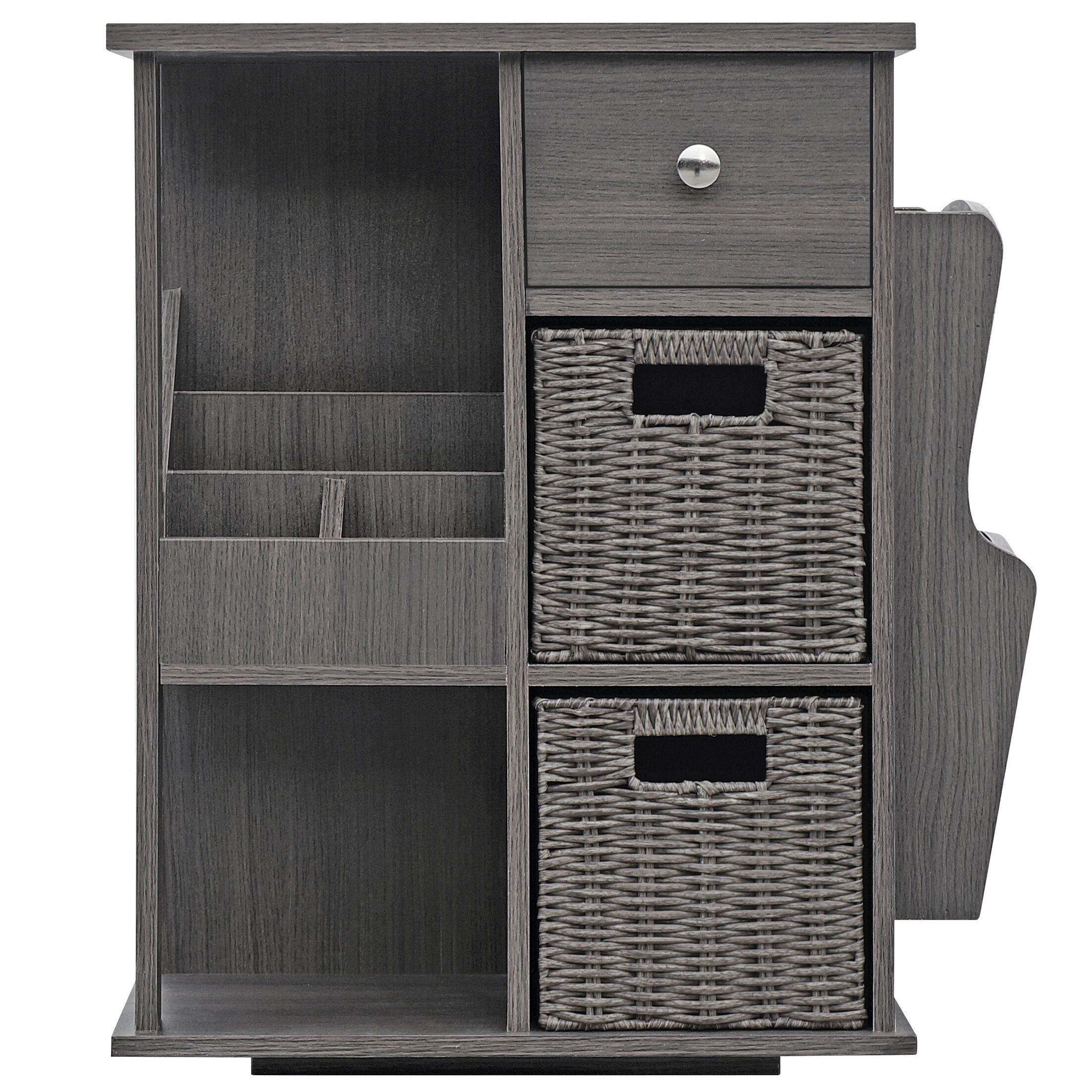 Albia End Table Color: Gray