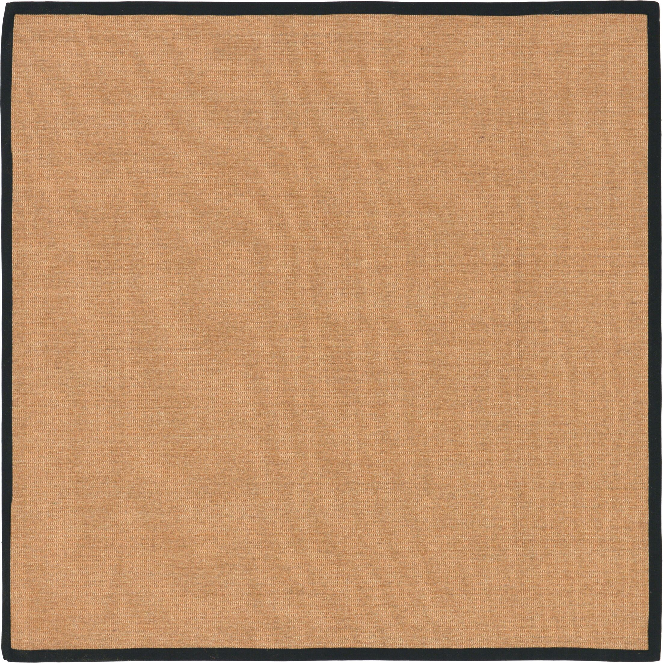 Grosvenor Light Brown Area Rug Rug Size: Square 8' x 8'