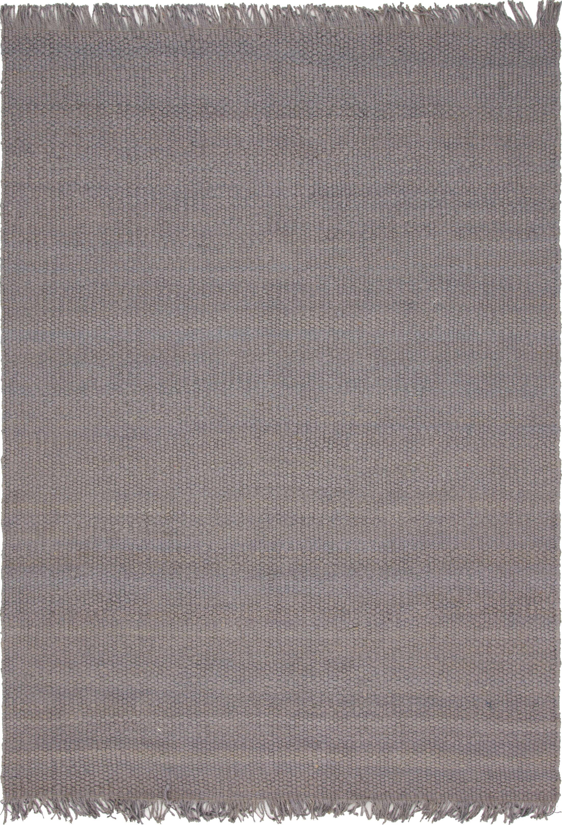 Gelman Hand-Woven Gray Area Rug Rug Size: Rectangle 4' x 6'