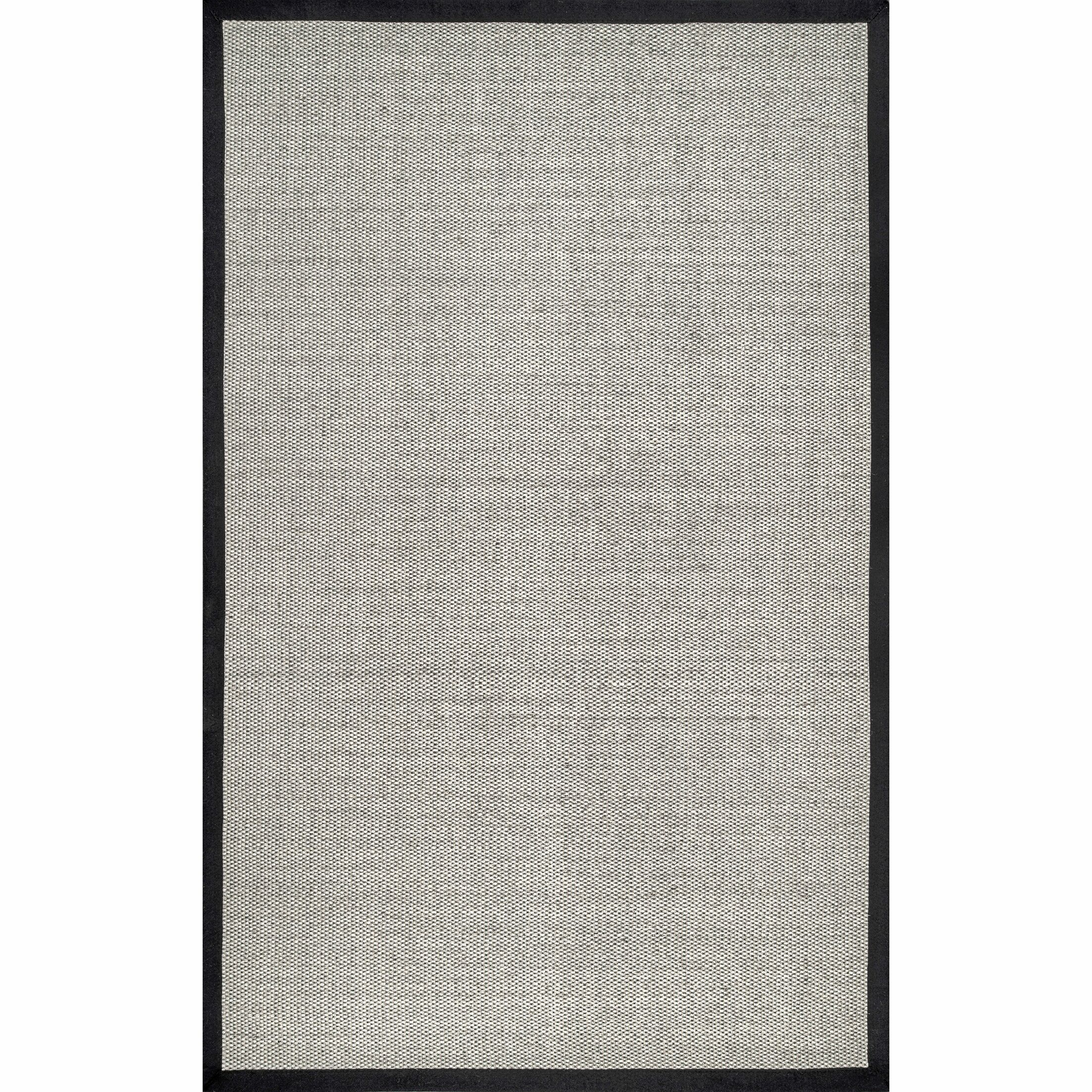 Anderson Black Area Rug Rug Size: Rectangle 9' x 12'