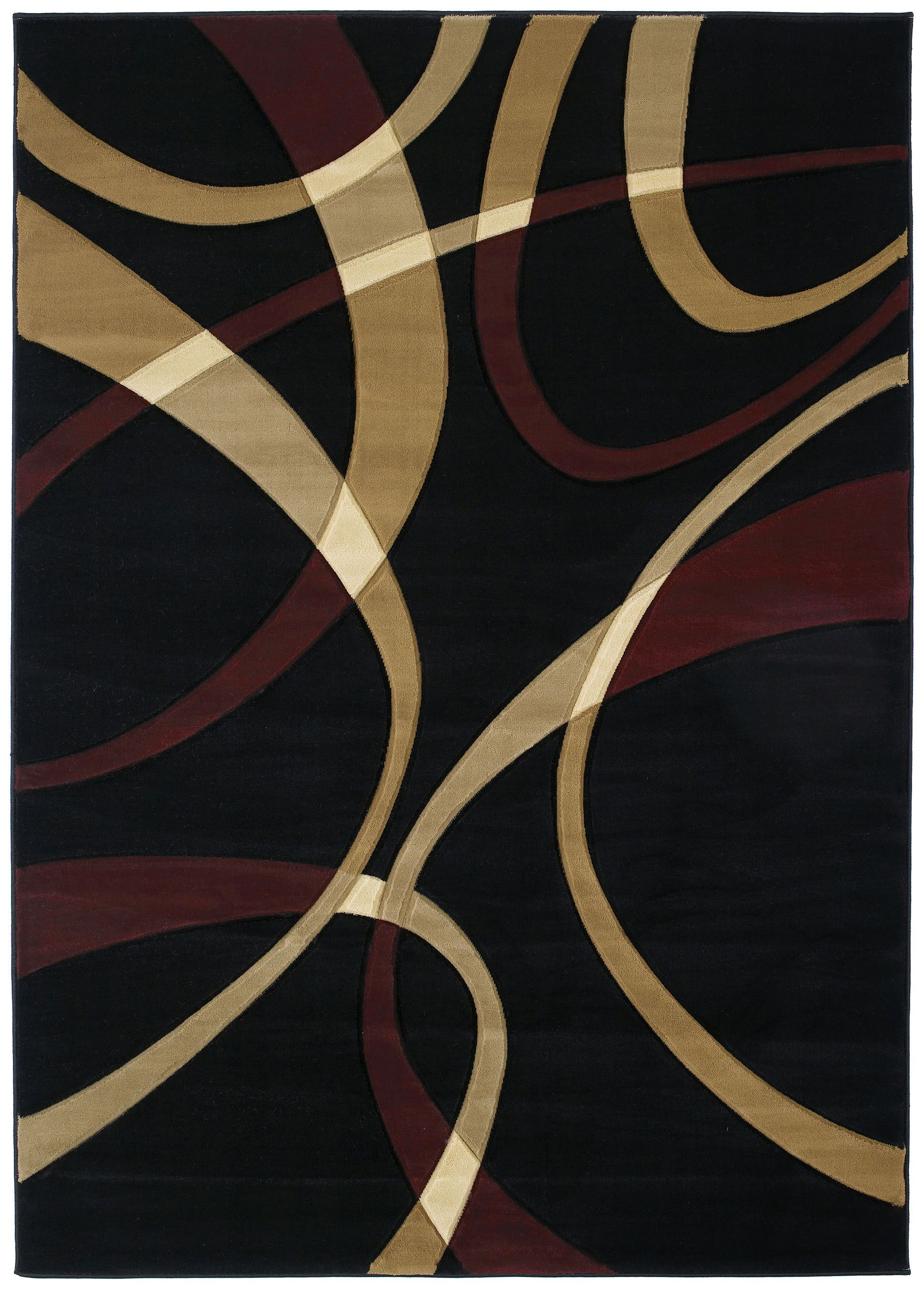 Havana Onyx Area Rug Rug Size: Rectangle 5'3