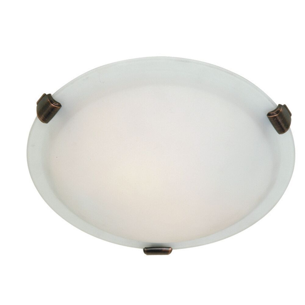 Duran 2-Light Flush Mount Size: 4.5