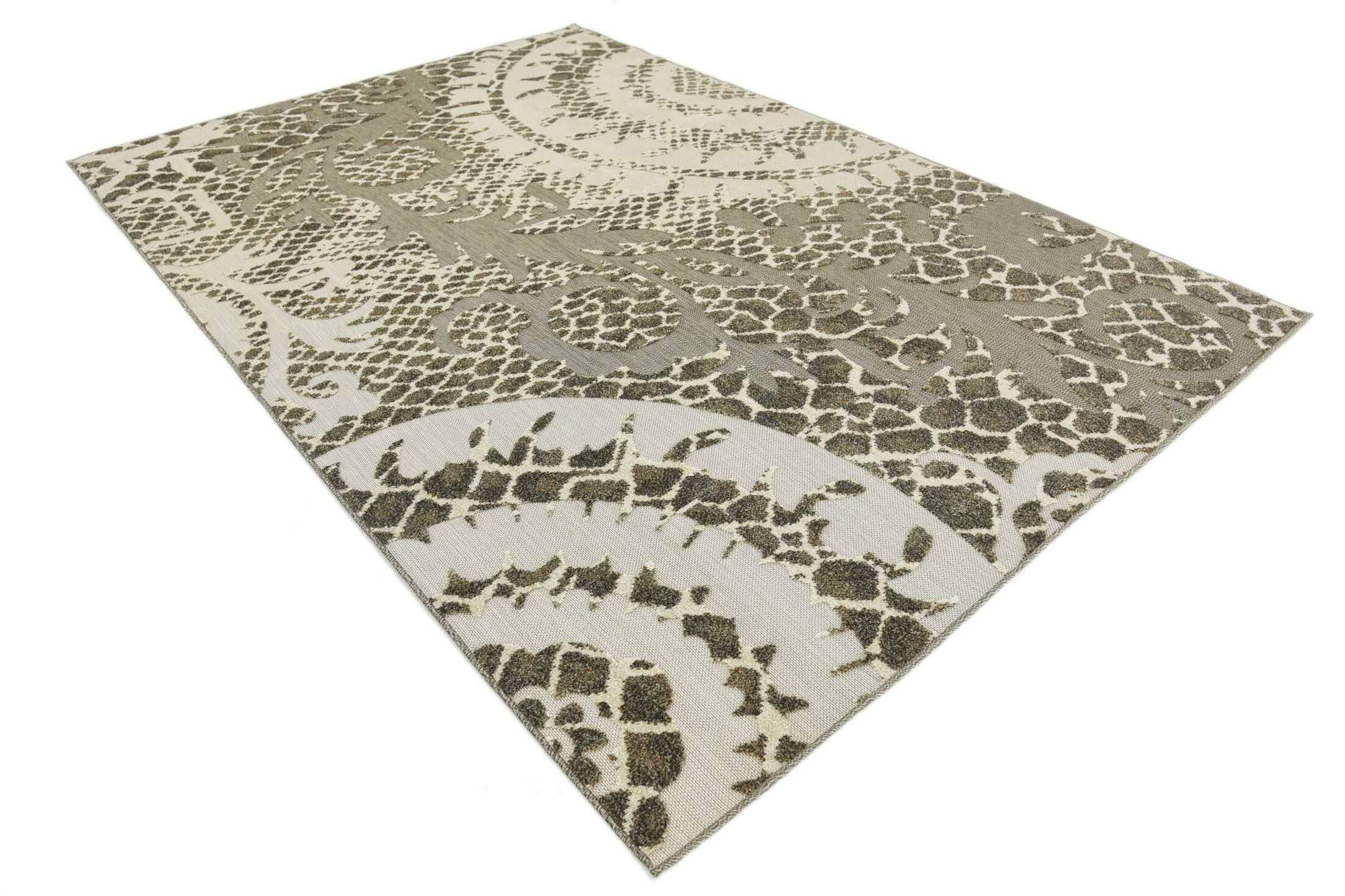 Annice Cream Indoor/Outdoor Area Rug Rug Size: Rectangle 6' x 9'