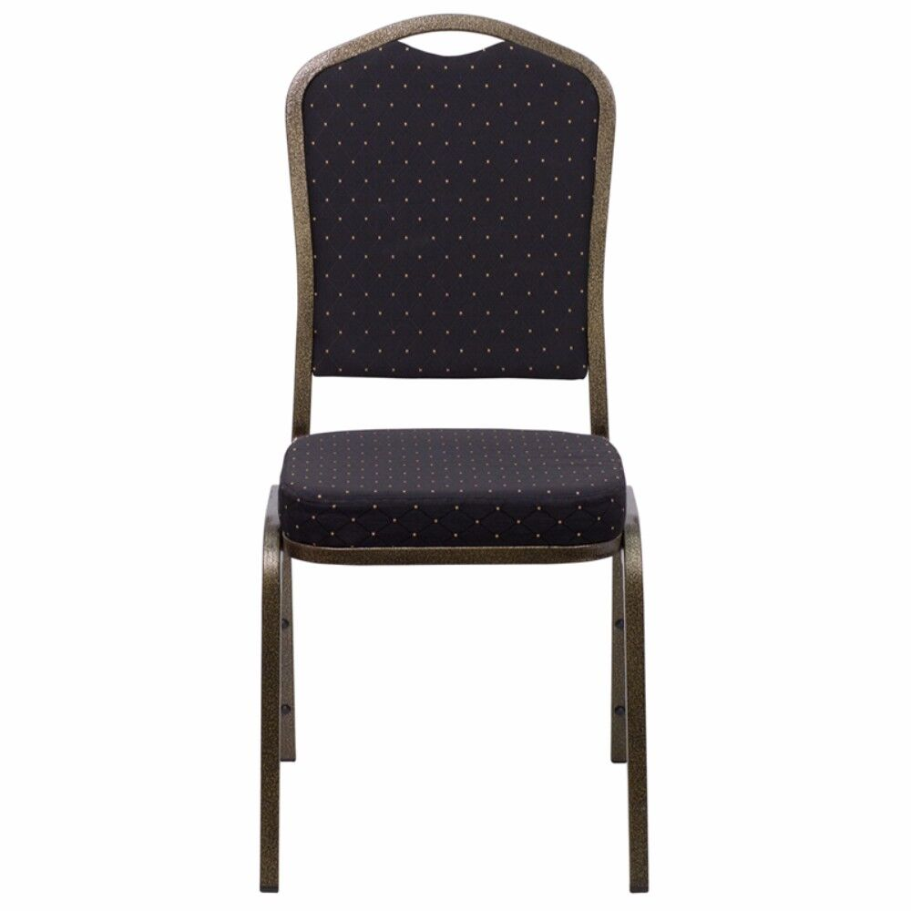 Taylor Crown Banquet Guest Chair Seat Finish: Black