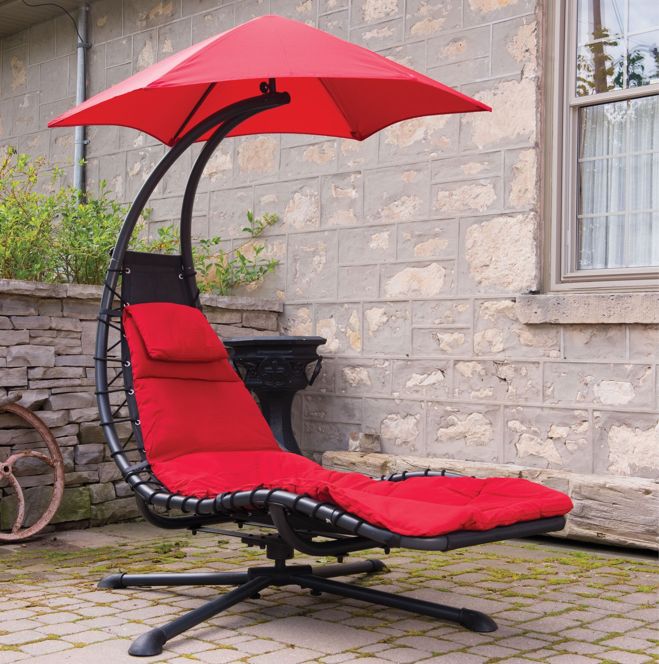 Maglione 360� Chair Hammock Color: Cherry Red