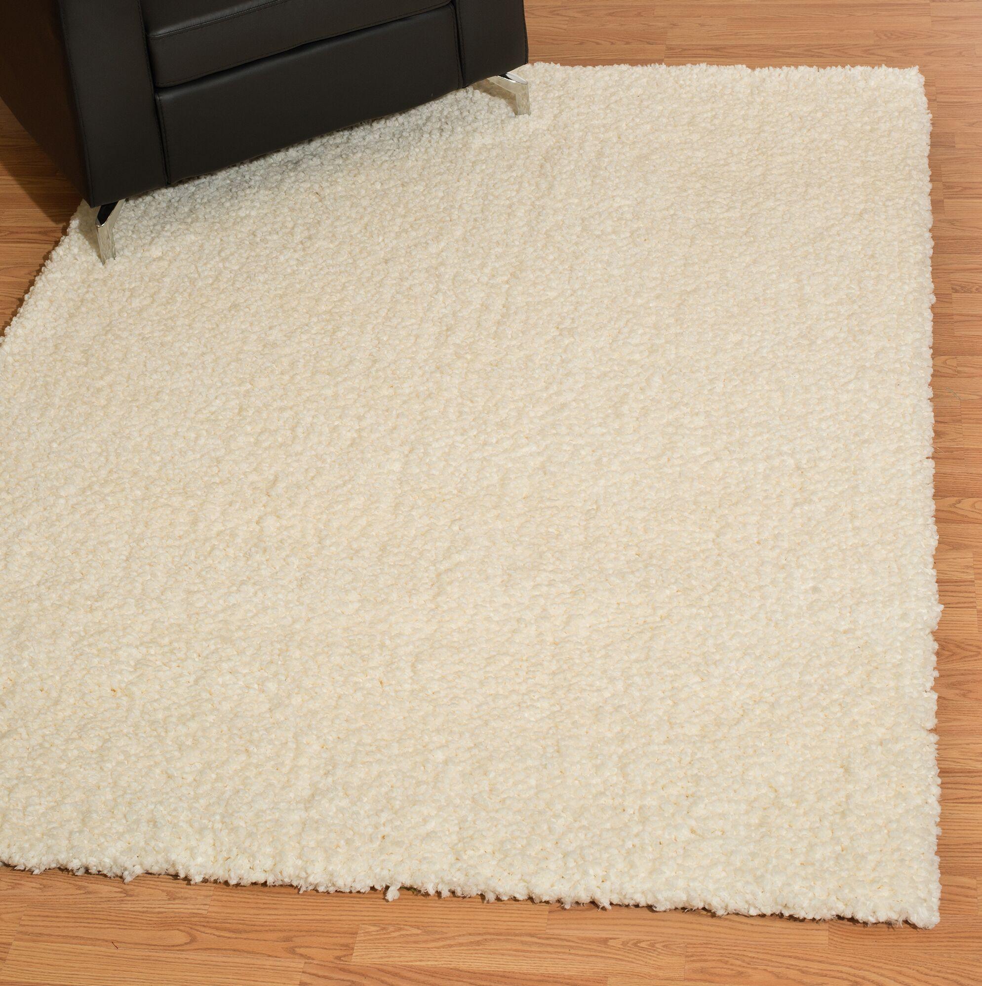 Mullenix Cream Area Rug Rug Size: Rectangle 5'3