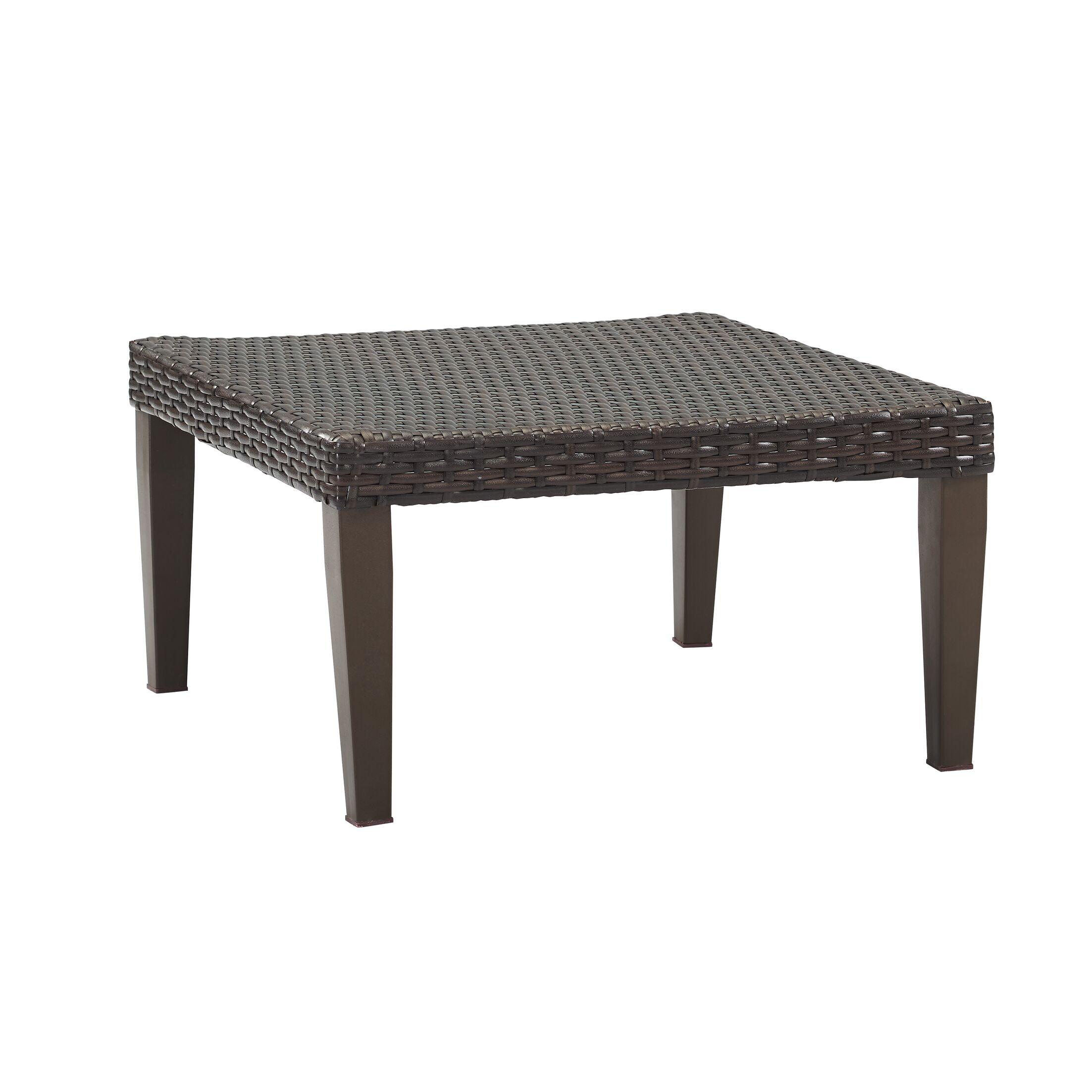 Fenwick Landing 6 Piece Rattan Sectional Set with Cushions Fabric: Tan