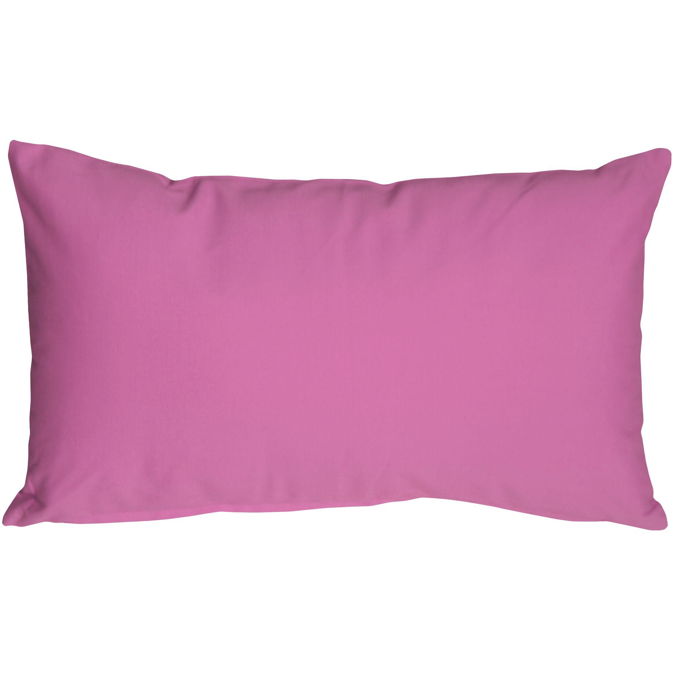 Mcfarland Cotton Lumbar Pillow Size: 9