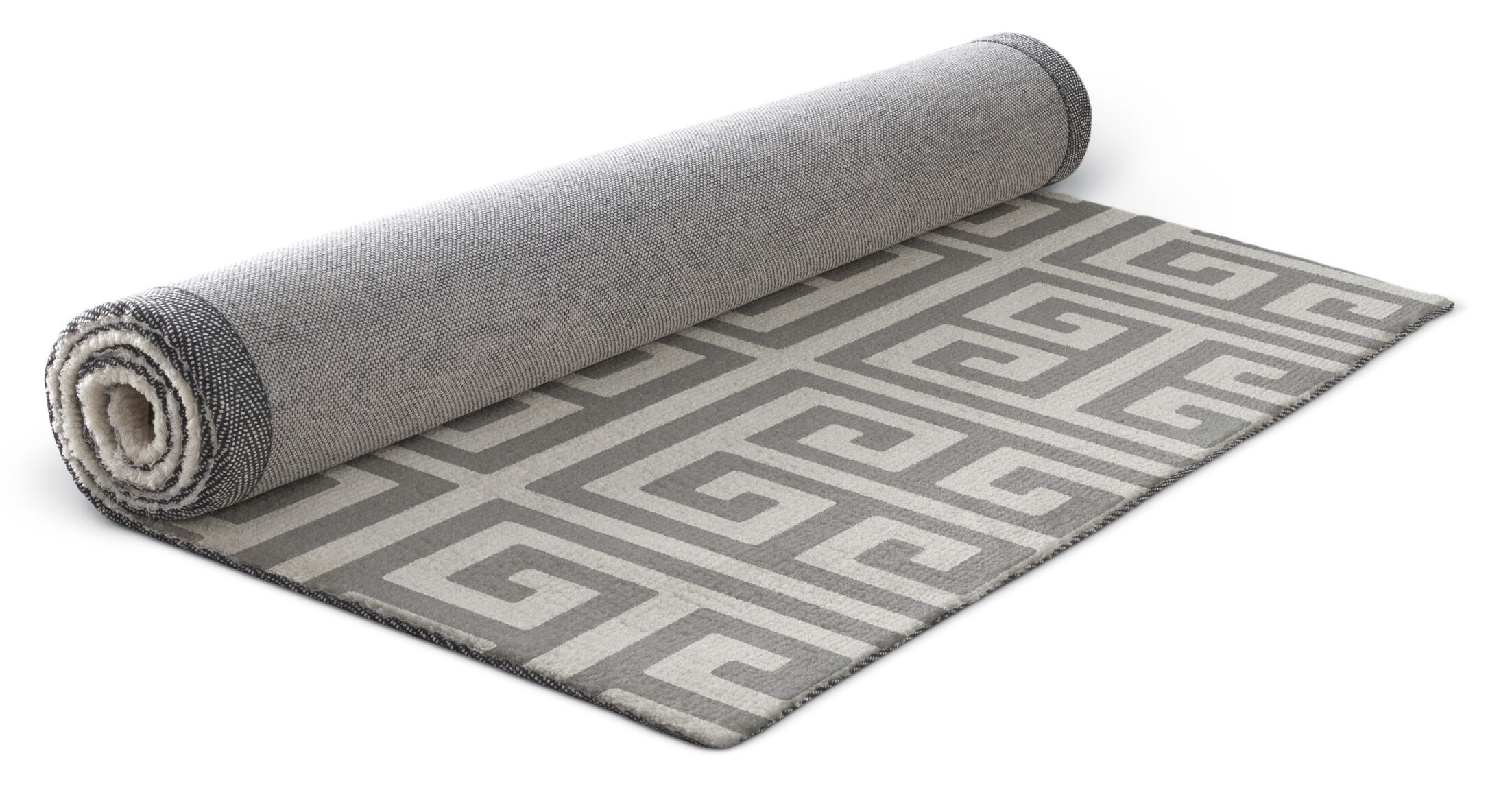 Ginger Gray Area Rug Rug Size: Rectangle 8' x 10'