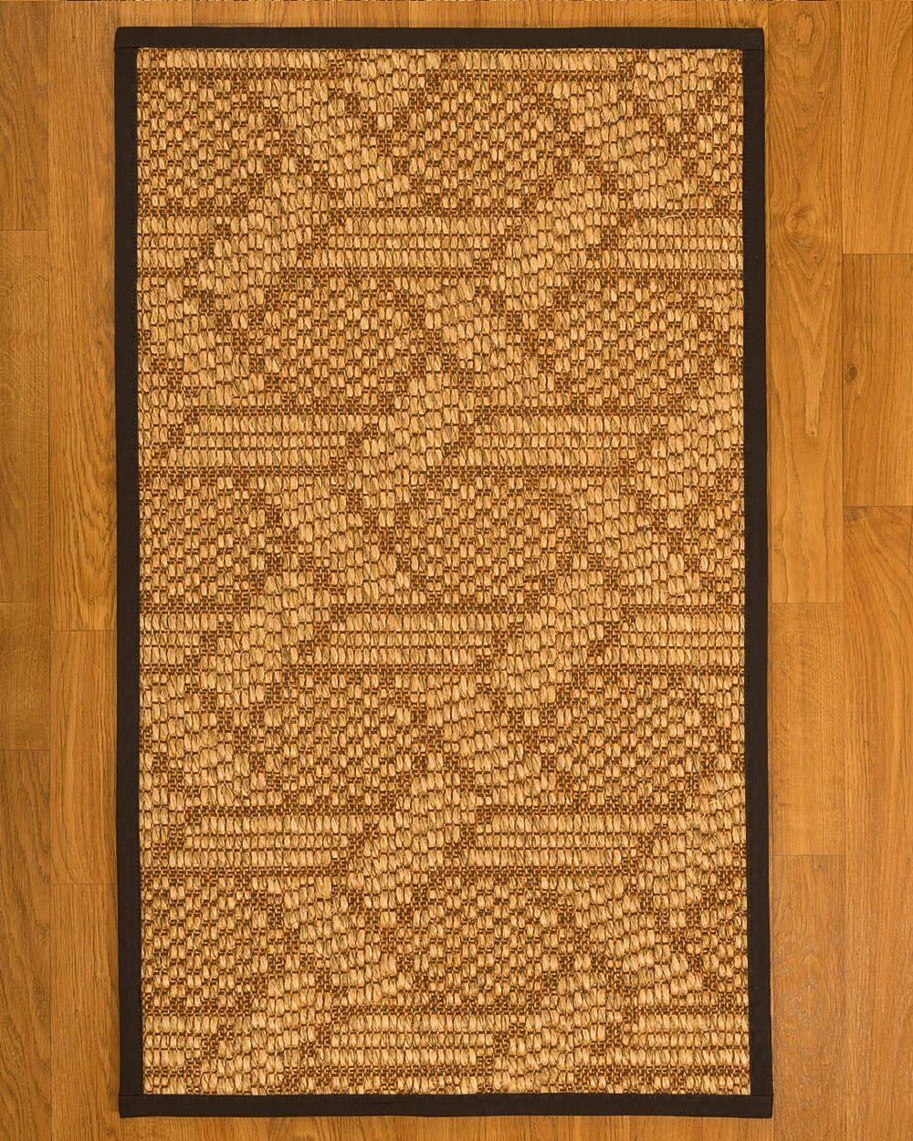 Aalin Hand-Woven Beige Area Rug Rug Size: Rectangle 5' X 8'