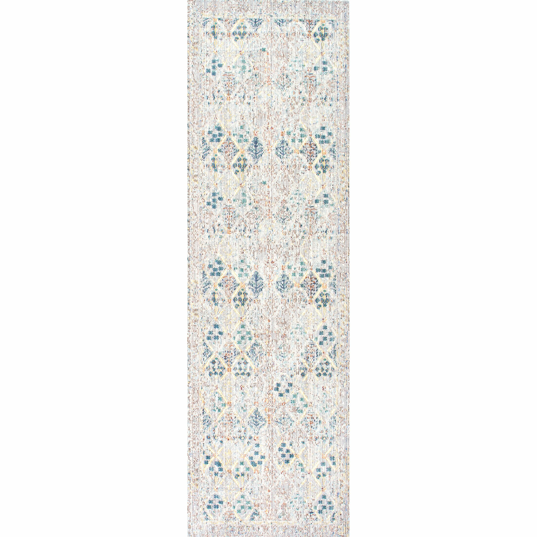 Cole Gray Area Rug Rug Size: Runner 2'6