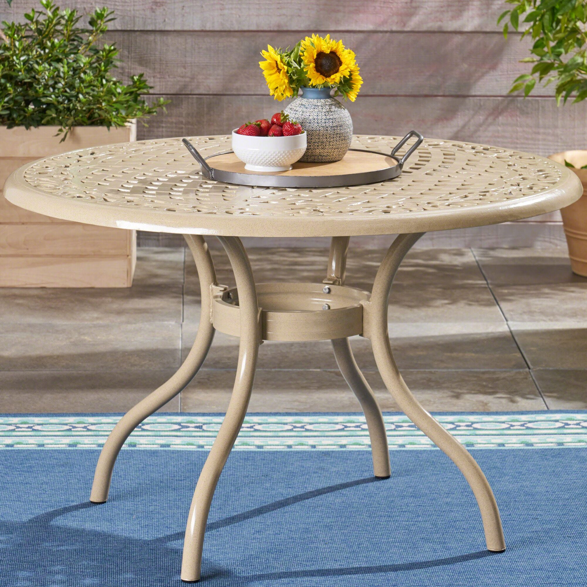 Fason Aluminum Dining Table