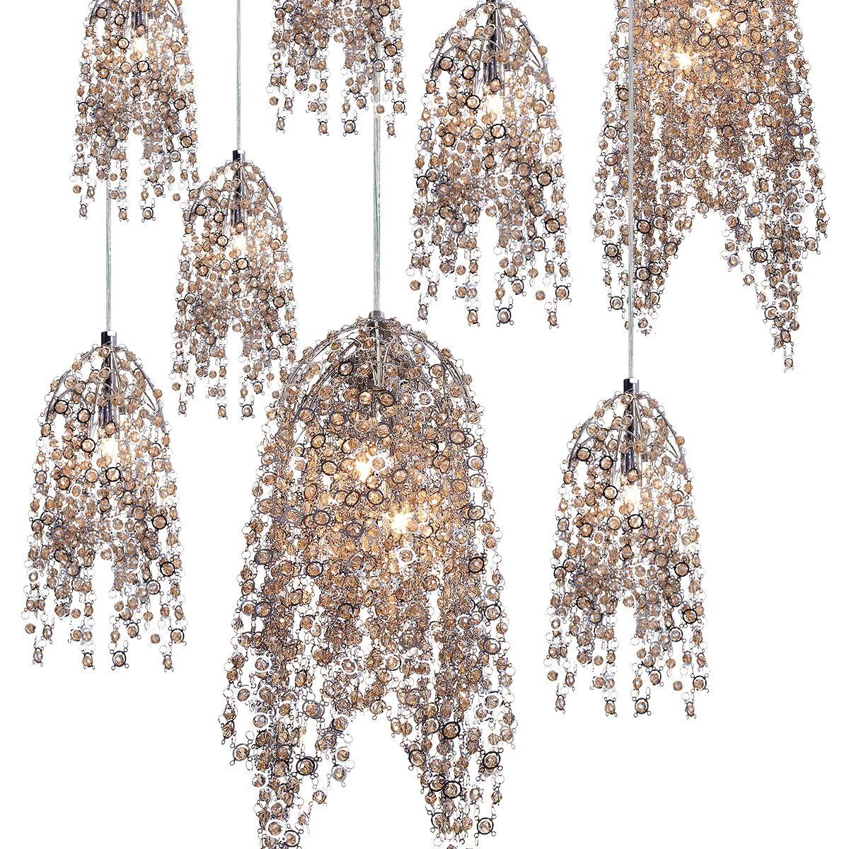 Shirlee 10-Light Cluster Pendant