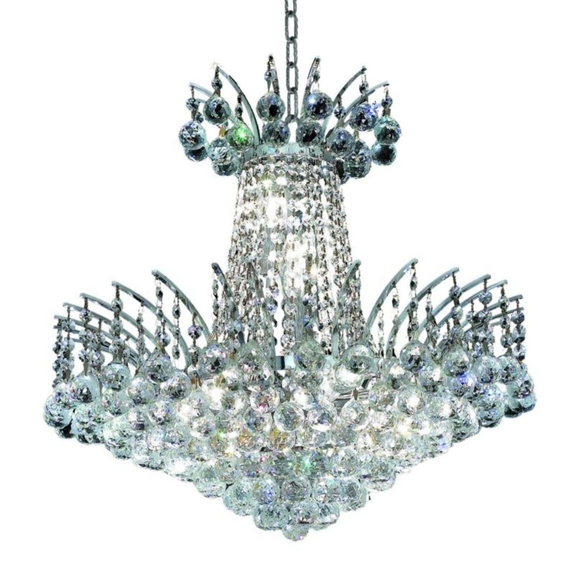 Phyllida 8-Light Empire Chandelier Finish: Chrome, Crystal: Spectra Swarovski