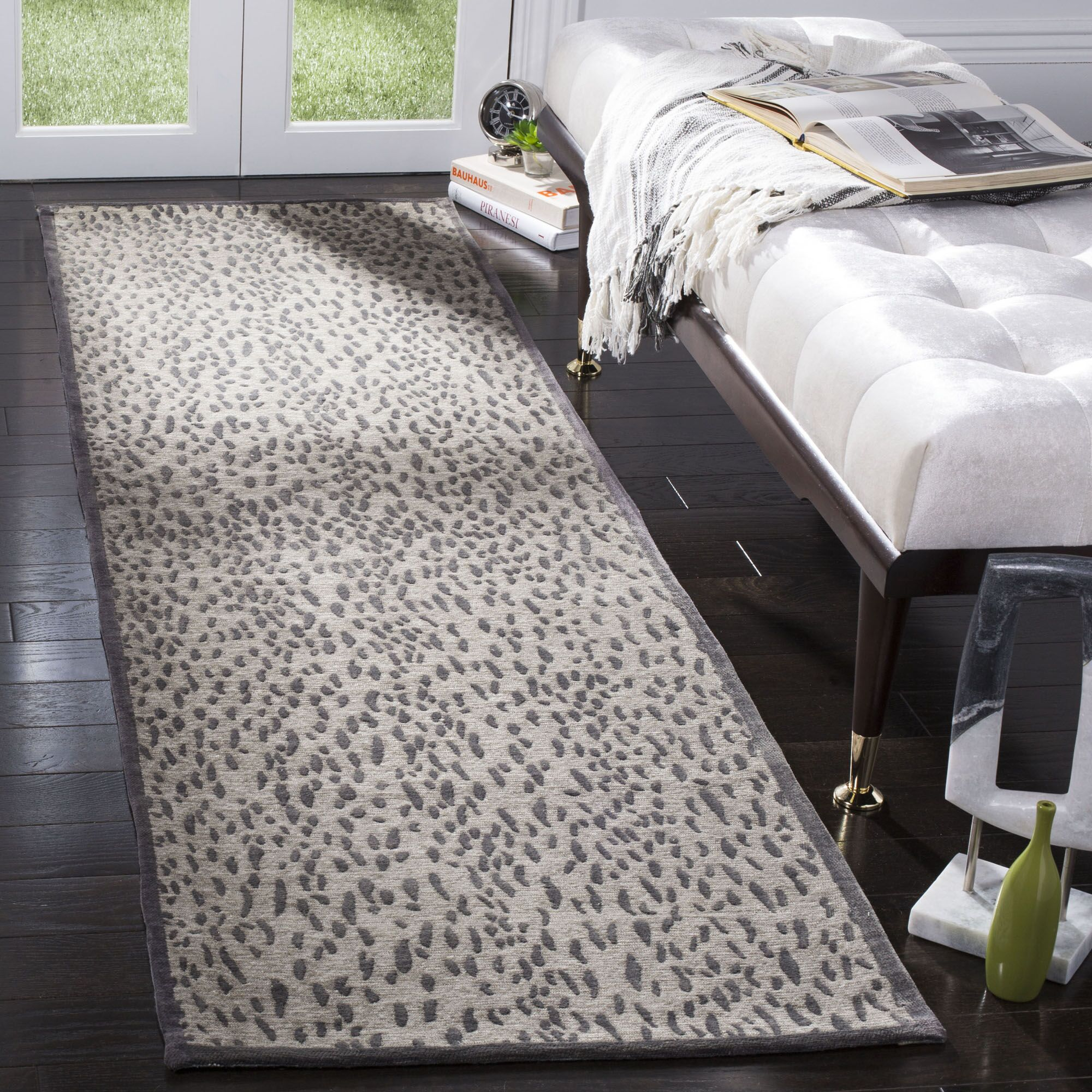 Ankit Hand Tufted Area Rug Rug Size: Runner 2'3