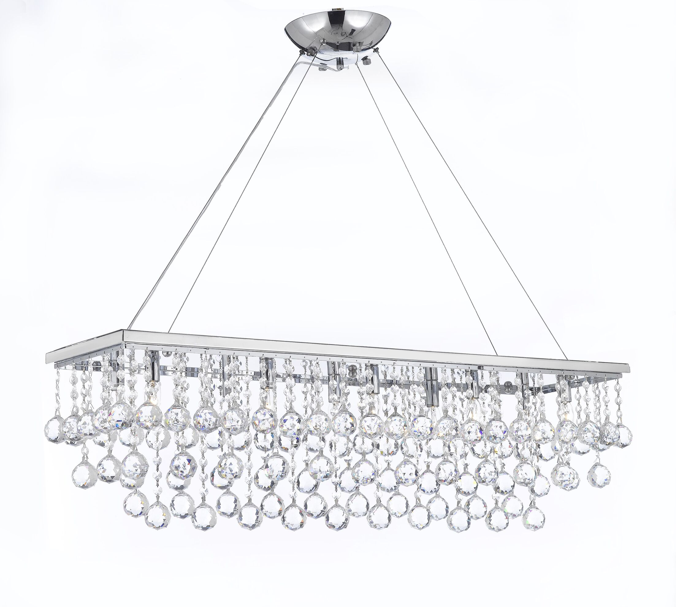 Aramantha 10-Light Chandelier