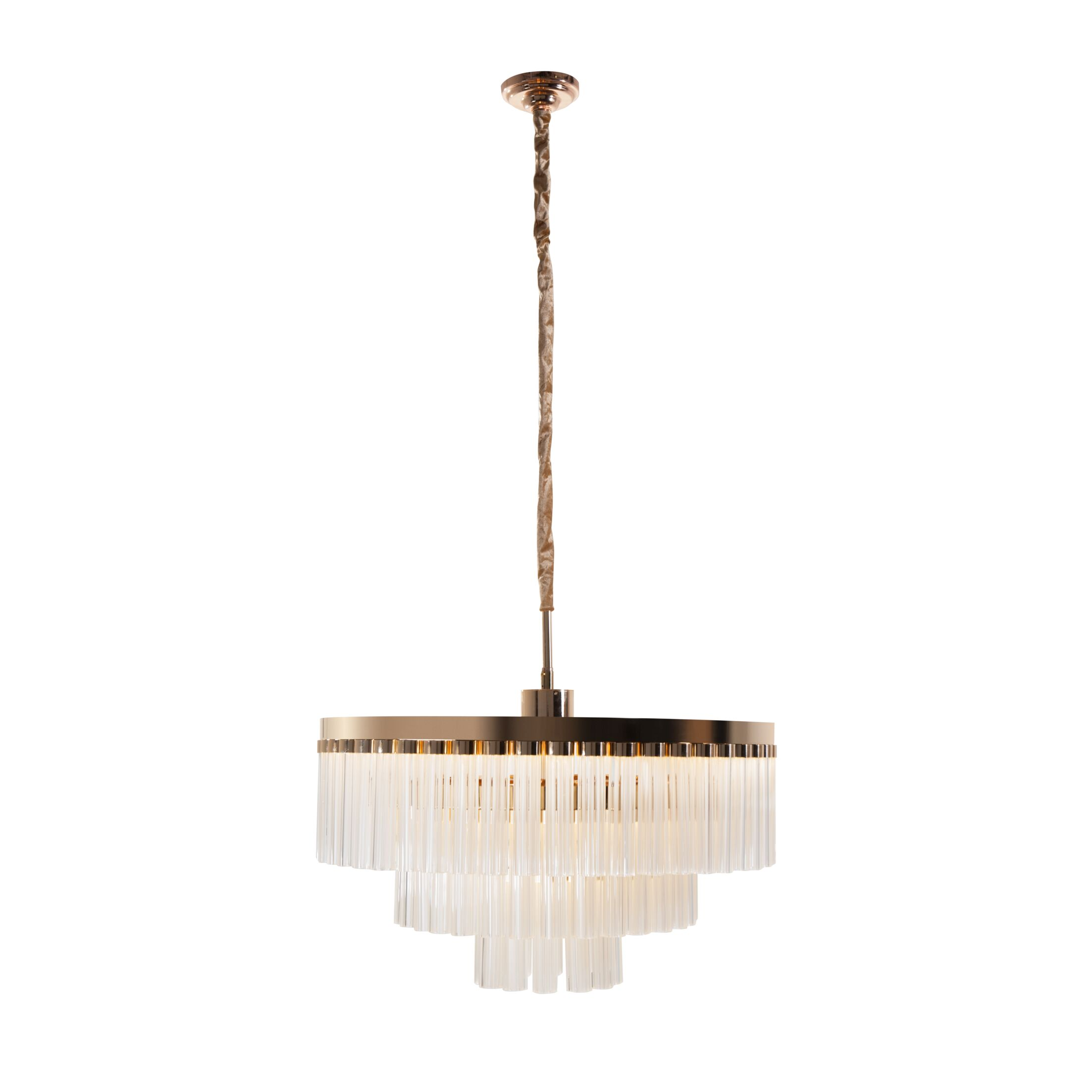 Alexandrina LED Drum Chandelier