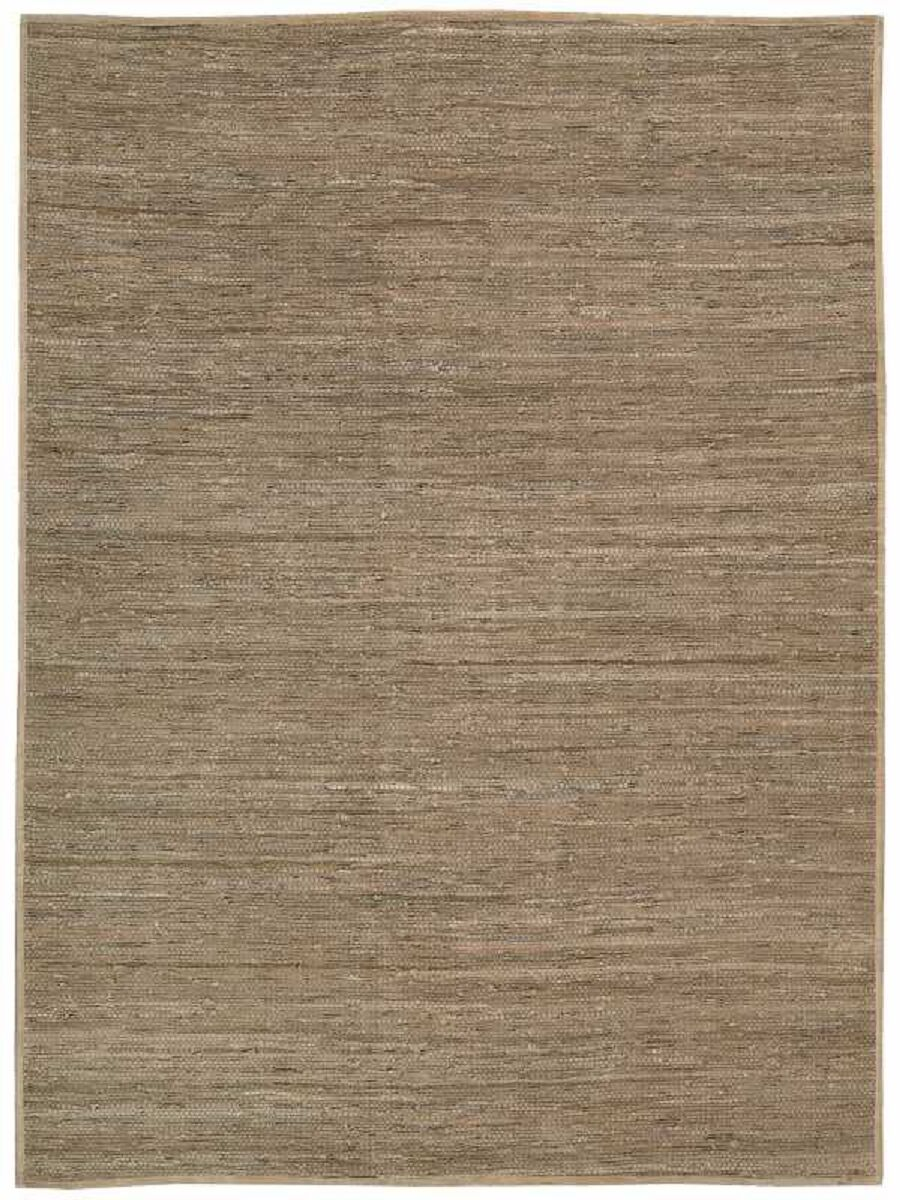 Santos Hand-Woven Beige Area Rug Rug Size: Rectangle 5'3