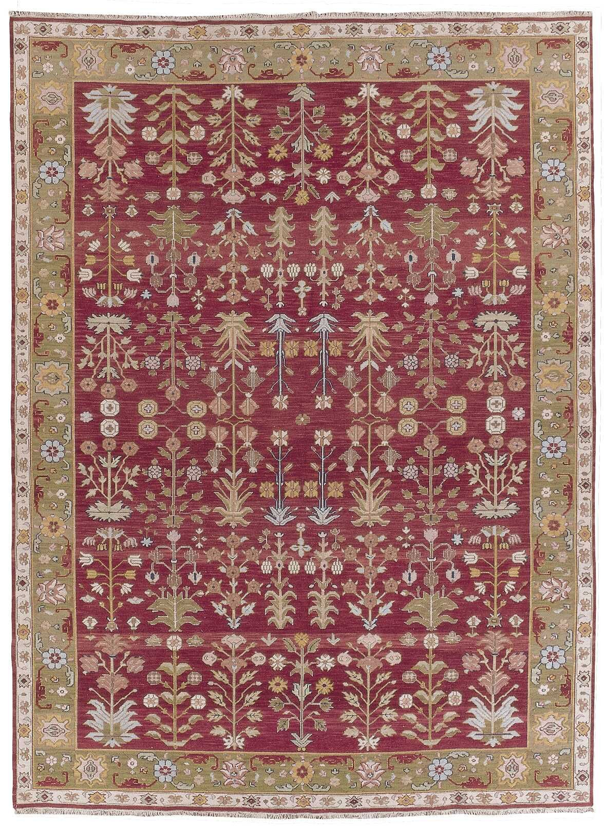 Prescot Hand-Woven Burgundy Area Rug Rug Size: Rectangle 8'10