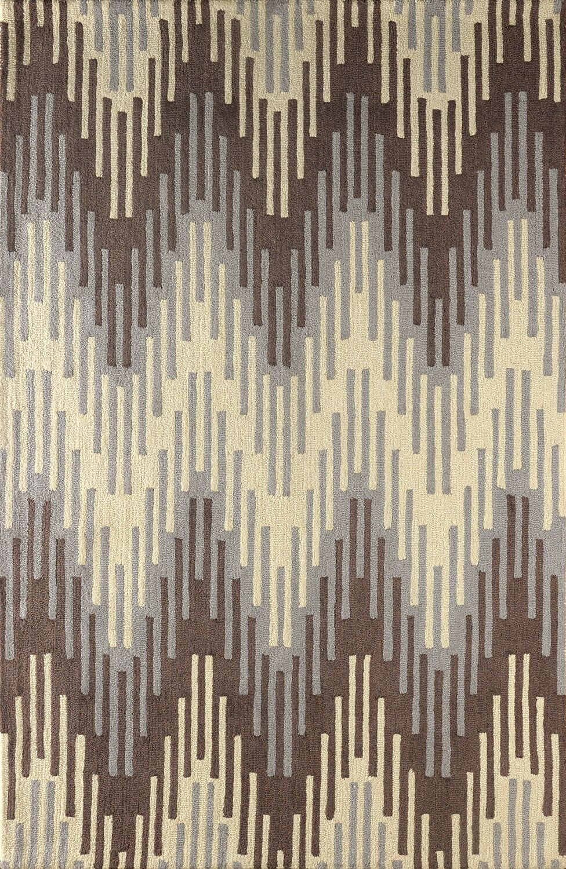 Flanary Hand Tufted Dark Iris Area Rug Rug Size: Rectangle 4' x 6'