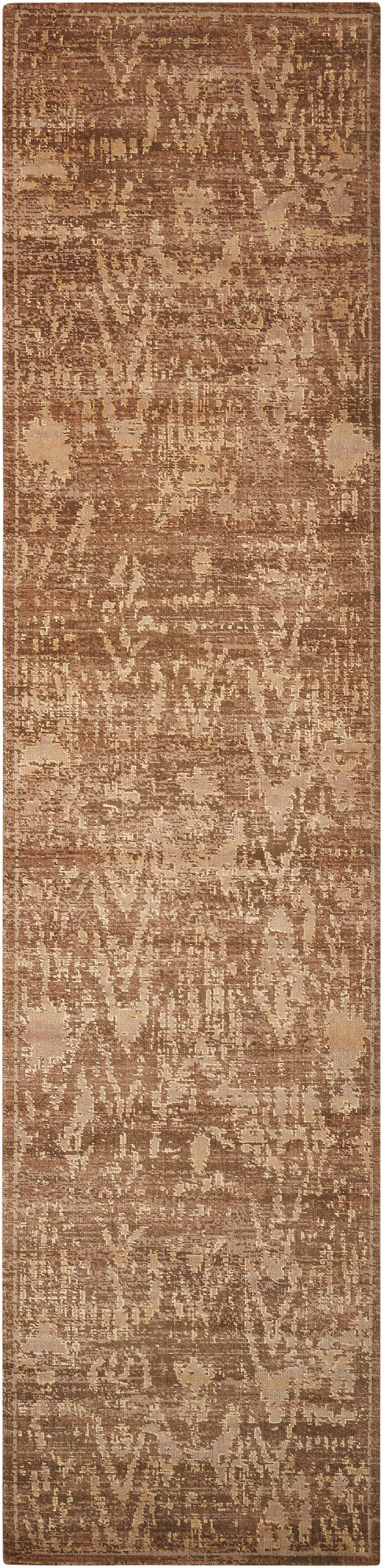 Dringenberg Traditional Chocolate Area Rug Rug Size: Runner 2'5