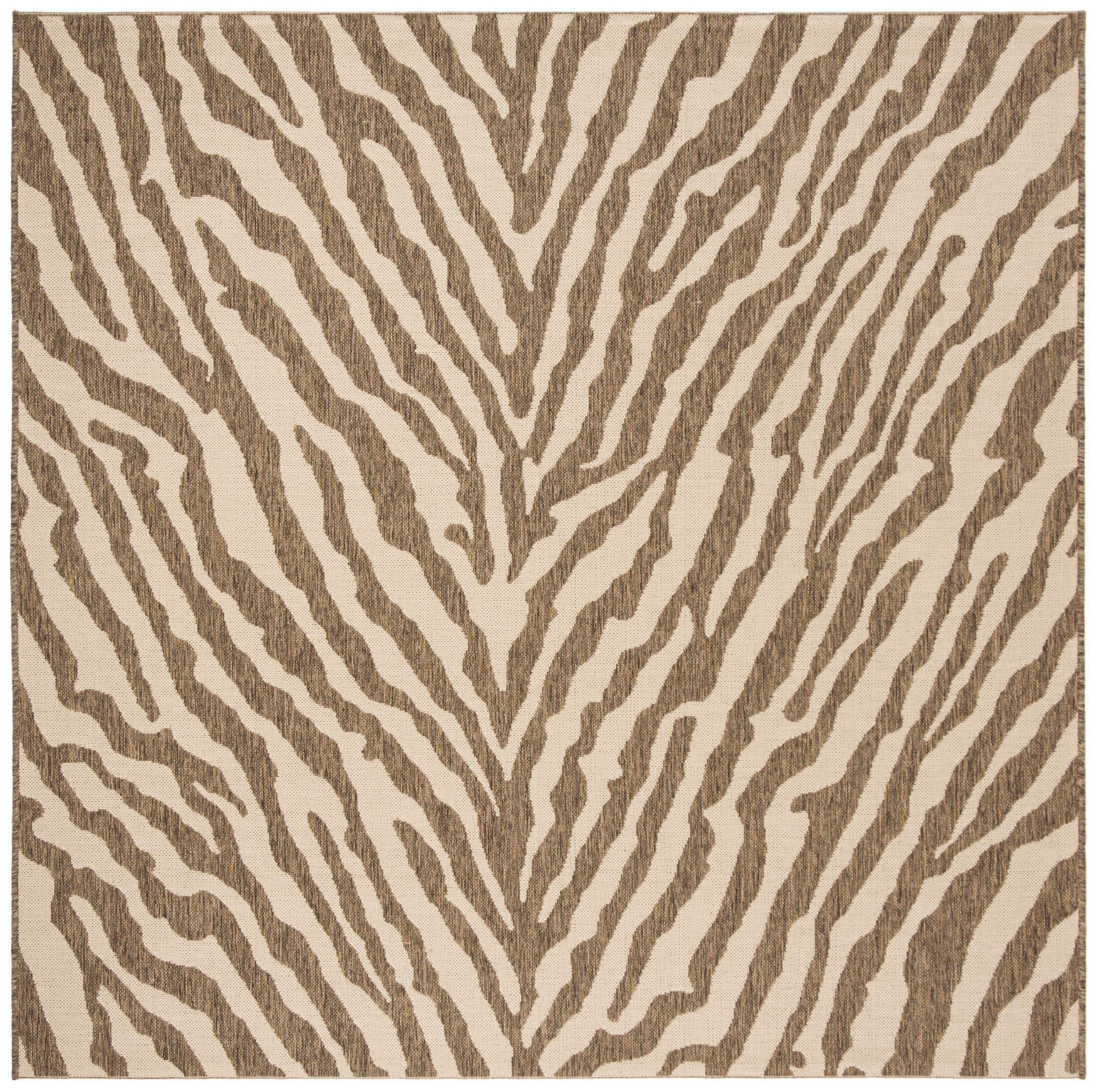 Mckinley Cream/Beige Area Rug Rug Size: Square 6'7