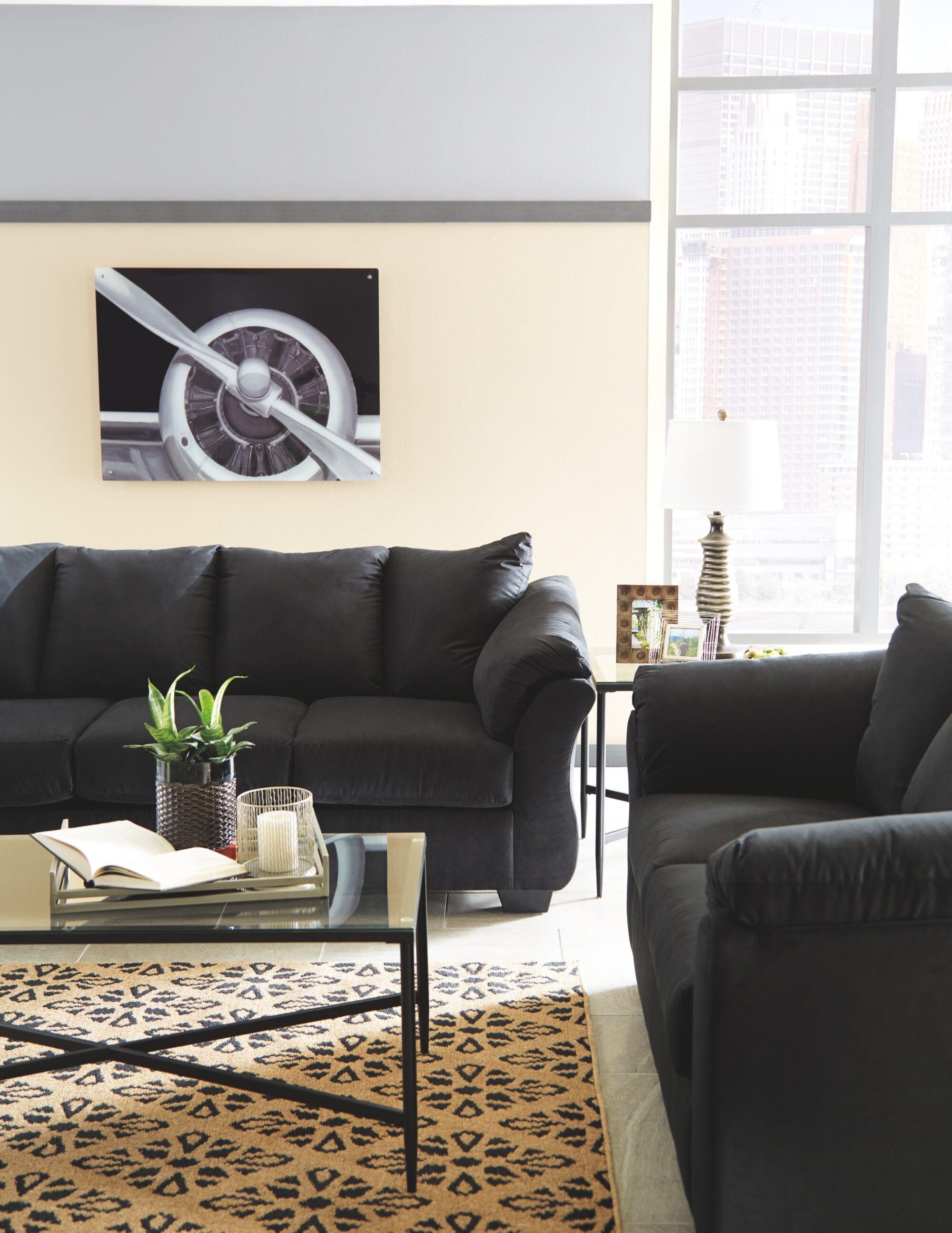 Freshford Tan/Black Area Rug Rug Size: Rectangle 8' x 10'