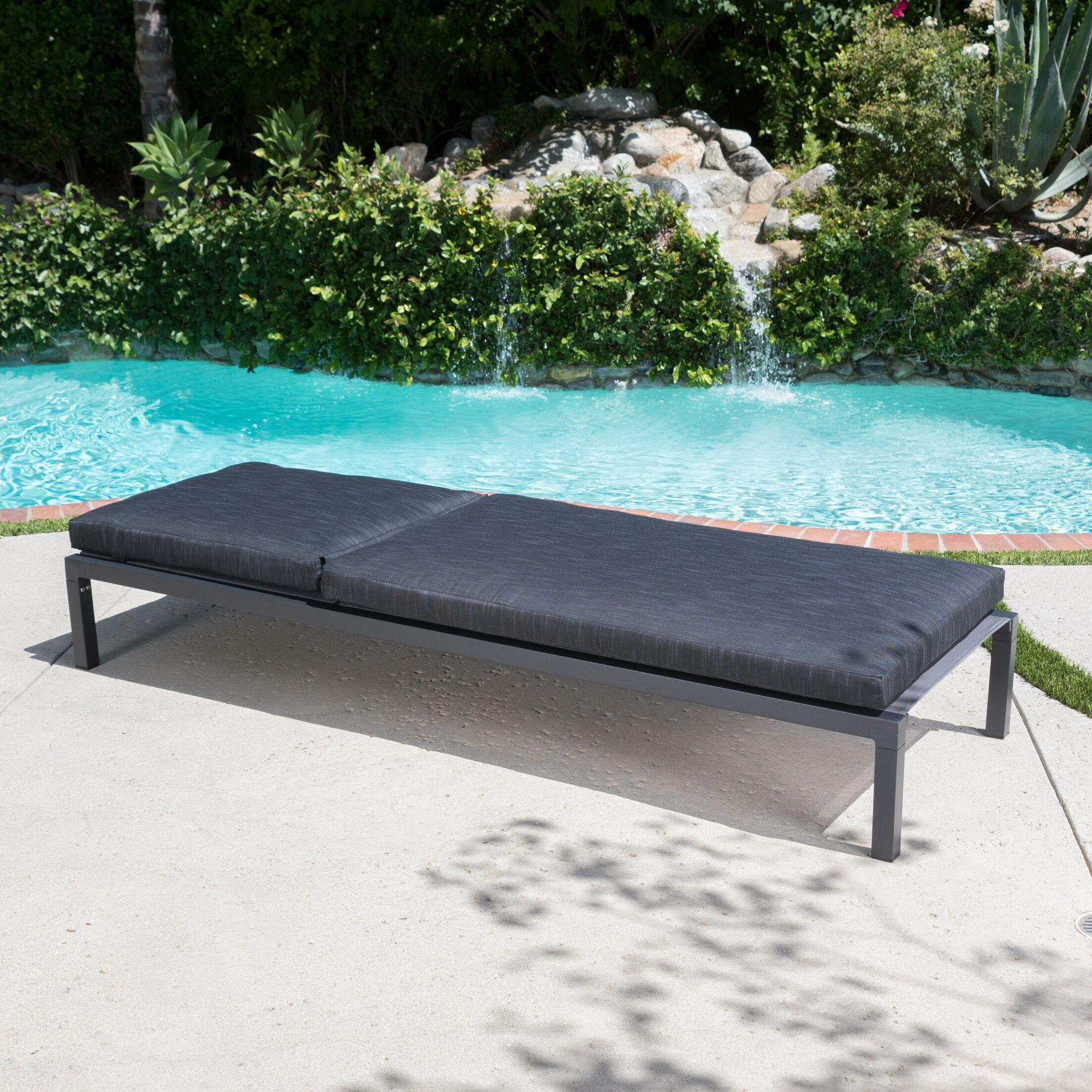 Dimatteo Modern Chaise Lounge