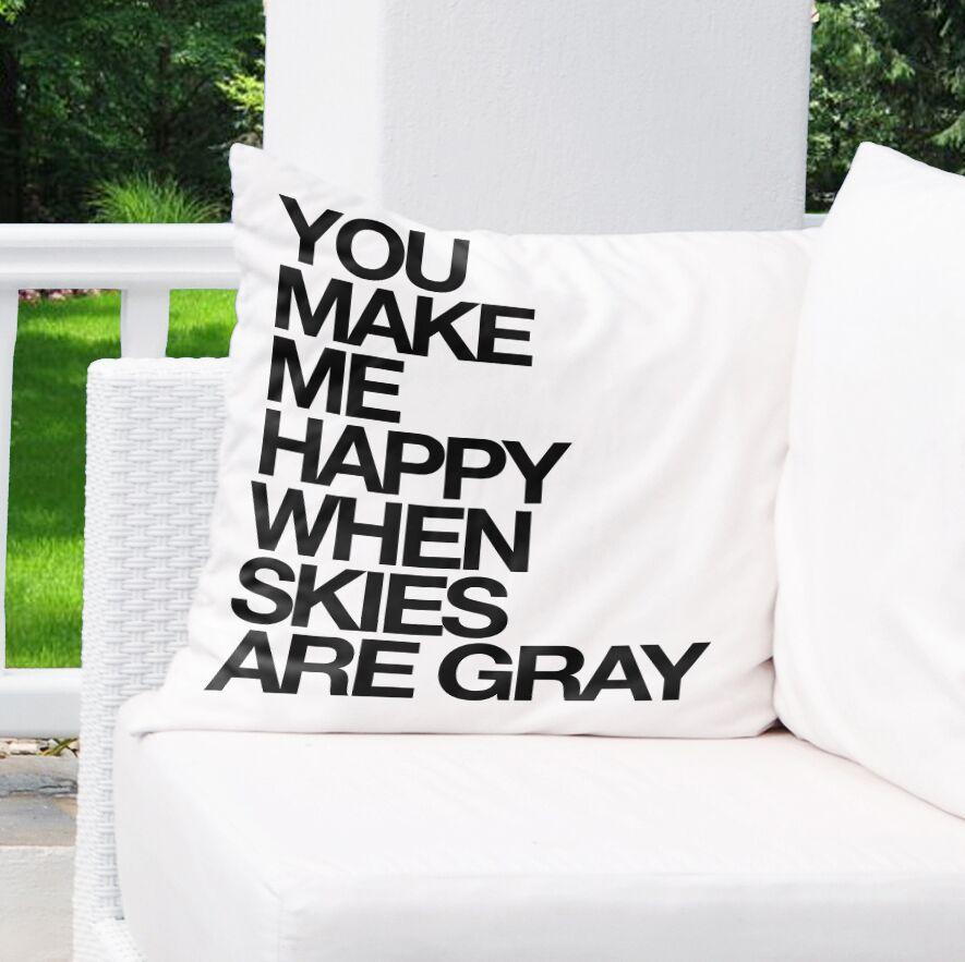 Sierra Indoor/Outdoor Throw Pillow Size: 26