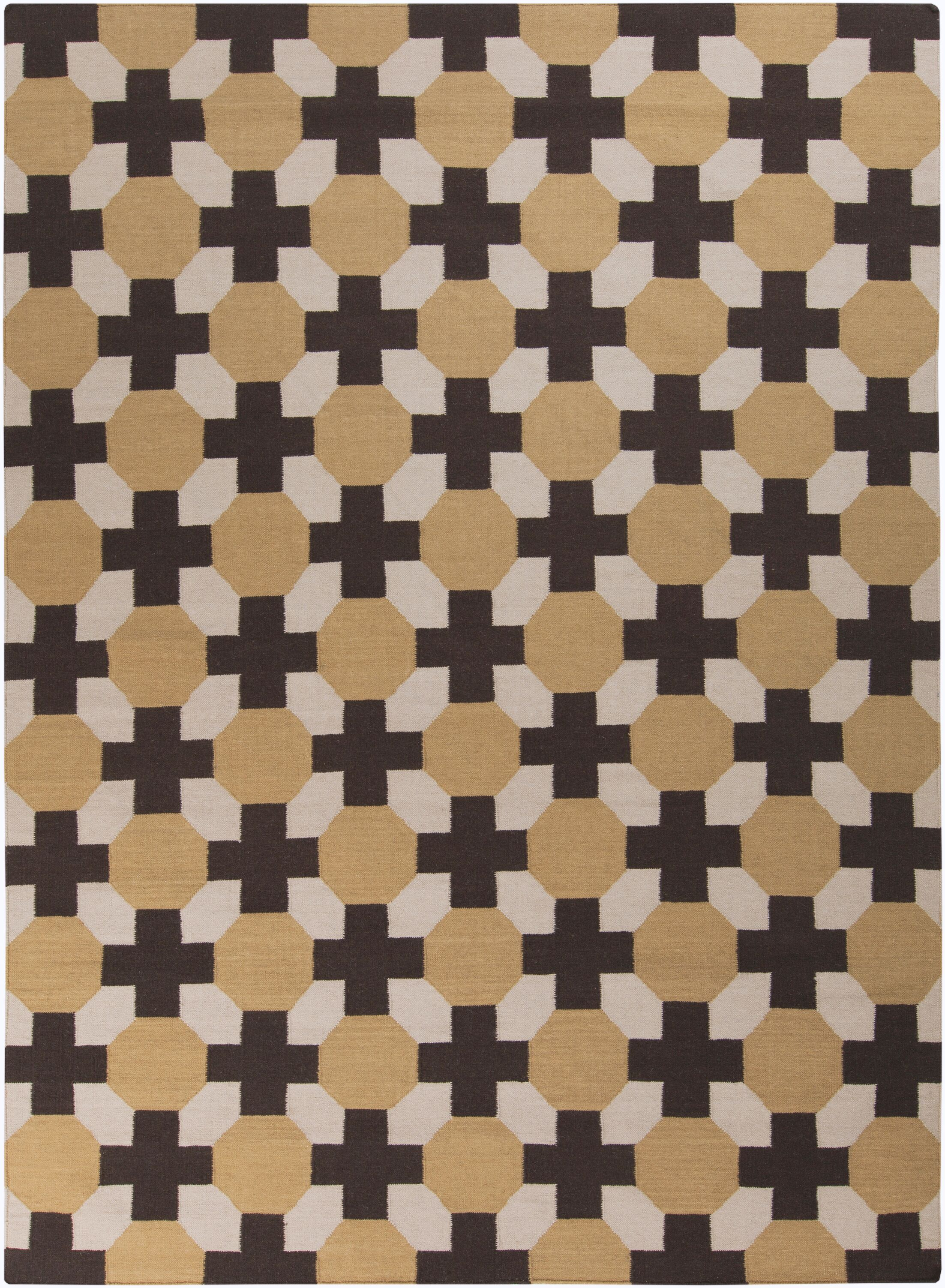 Wallace Checked Area Rug Rug Size: Rectangle 8' x 11'