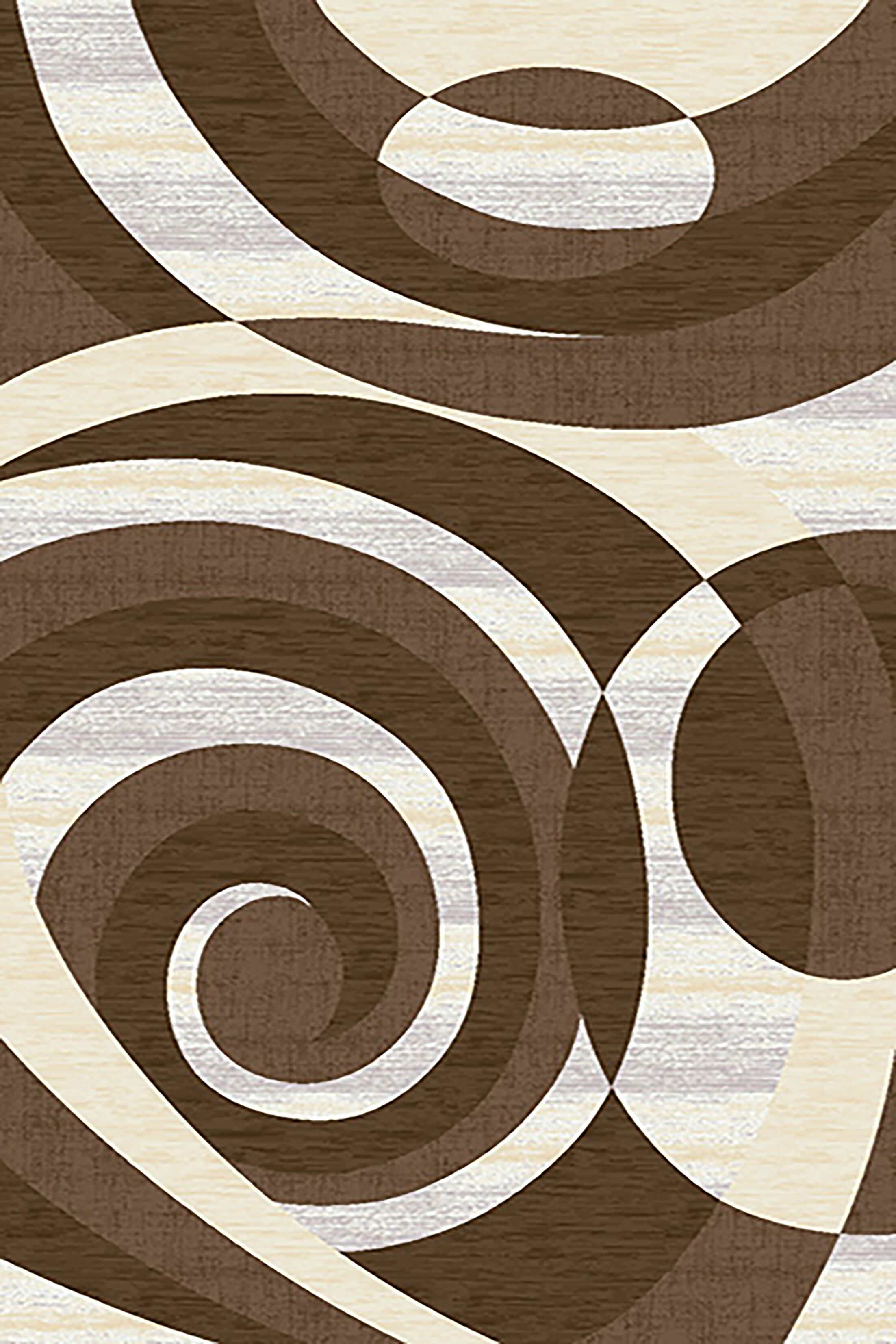 Mccampbell 3D Abstract Brown/Gray Area Rug Rug Size: Rectangle 5' x 8'