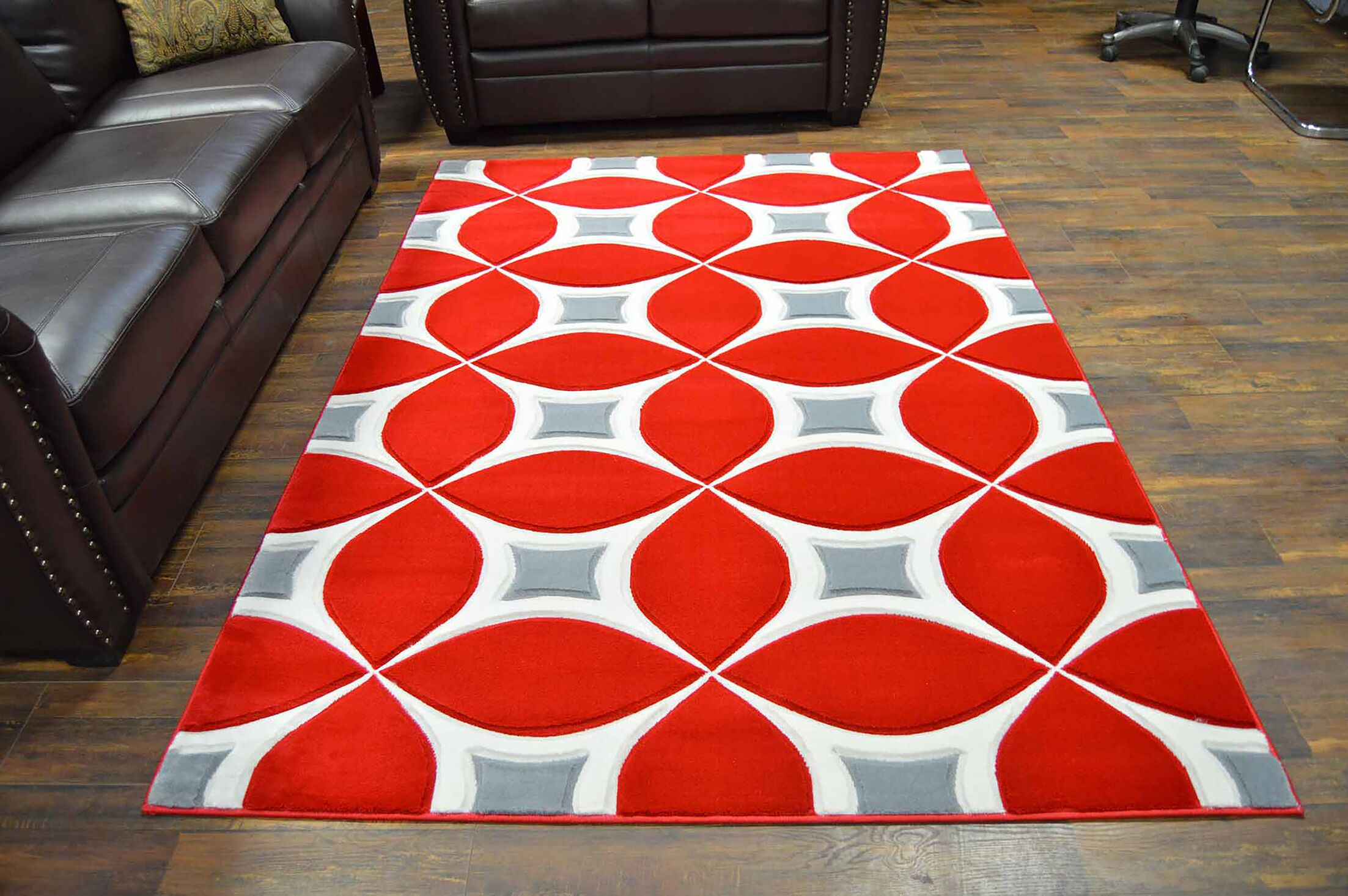 Mccampbell Brown/Beige Area Rug Rug Size: Rectangle 5' x 7'