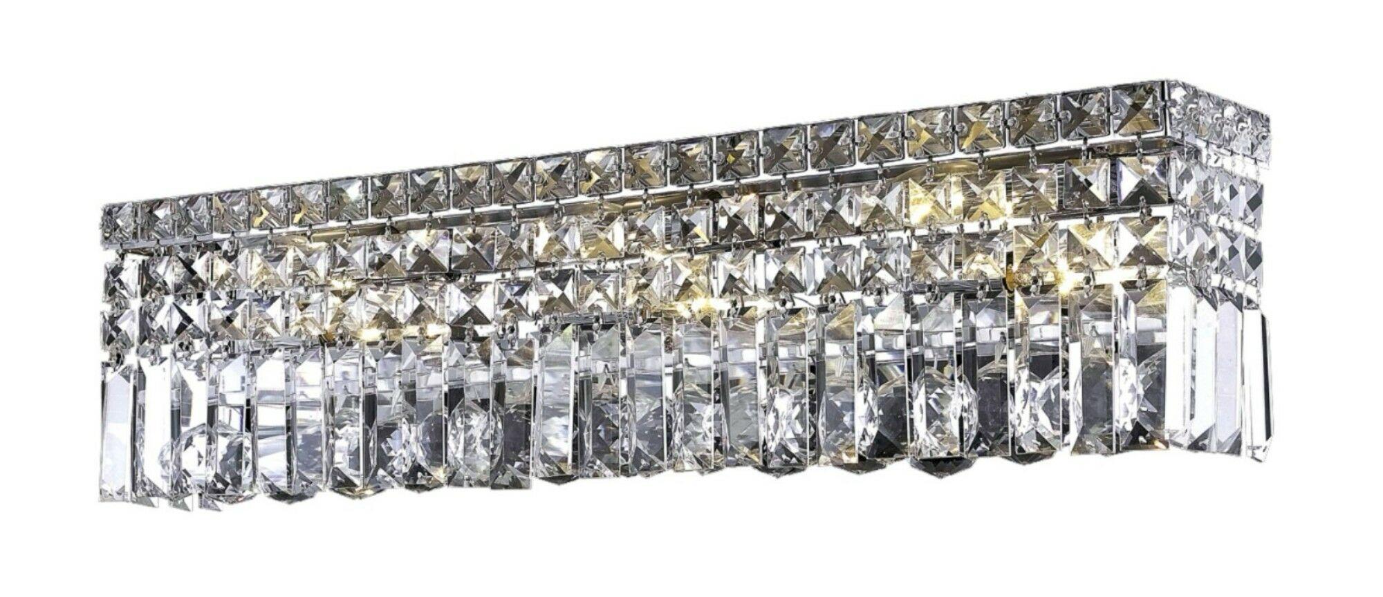 Bratton 6-Light Flush Mount Crystal Color: Crystal Clear, Crystal Grade: Strass Swarovski