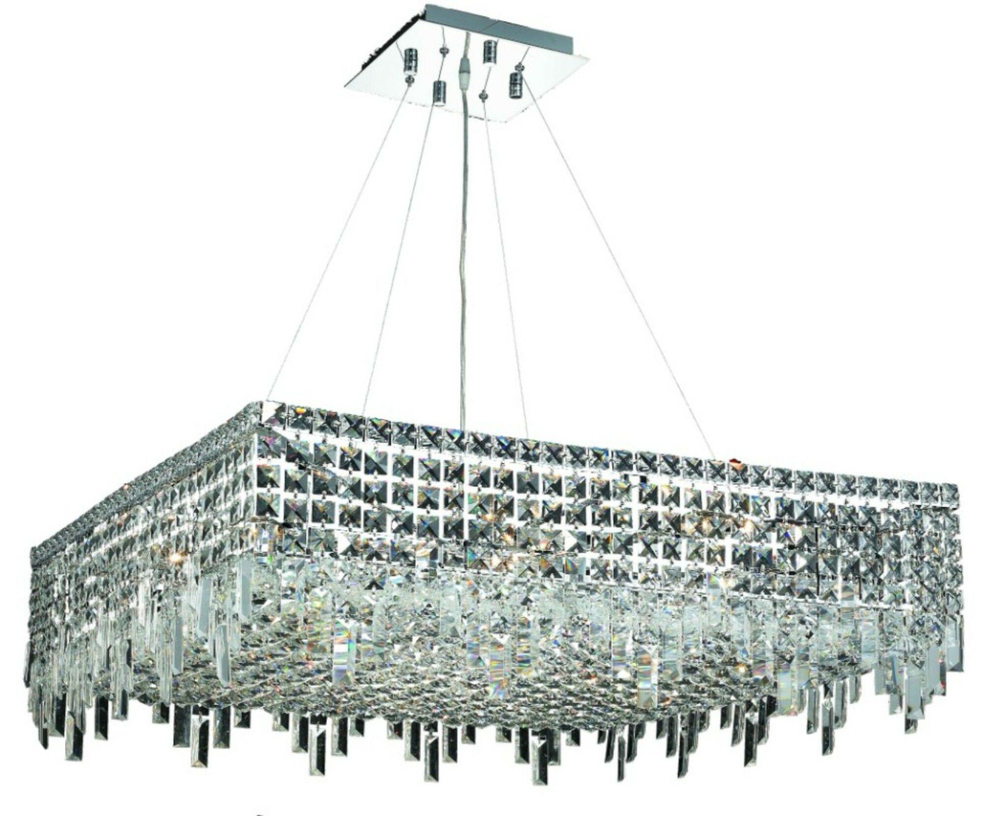 Bratton 12-Light Chandelier Size / Crystal Trim: 32