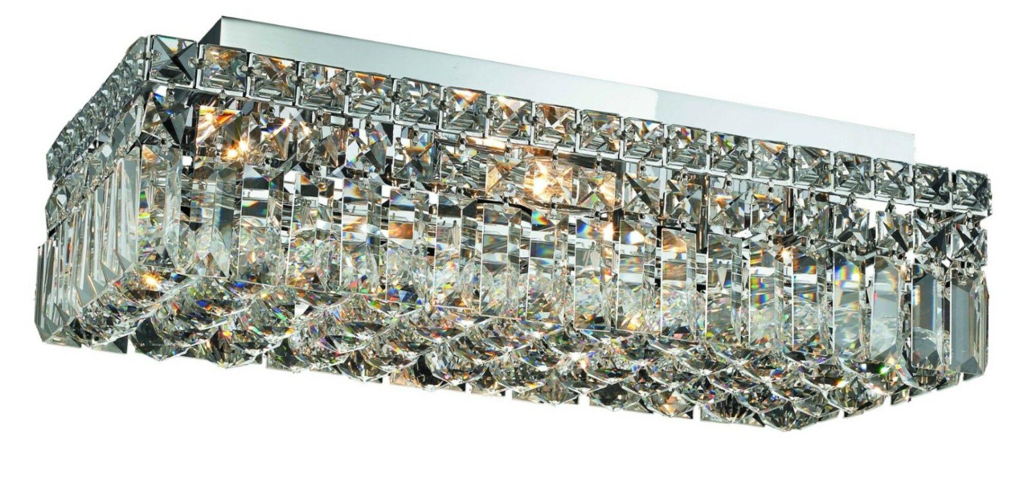 Bratton 4-Light Flush Mount Size / Crystal Grade: 20