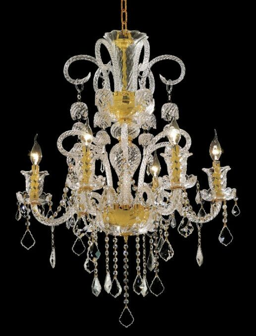 Elvira 6-Light Candle Style Chandelier