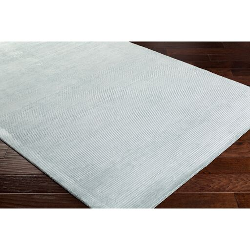 Aurora Hand Woven White Area Rug Rug Size: Rectangle 5' x 7'6