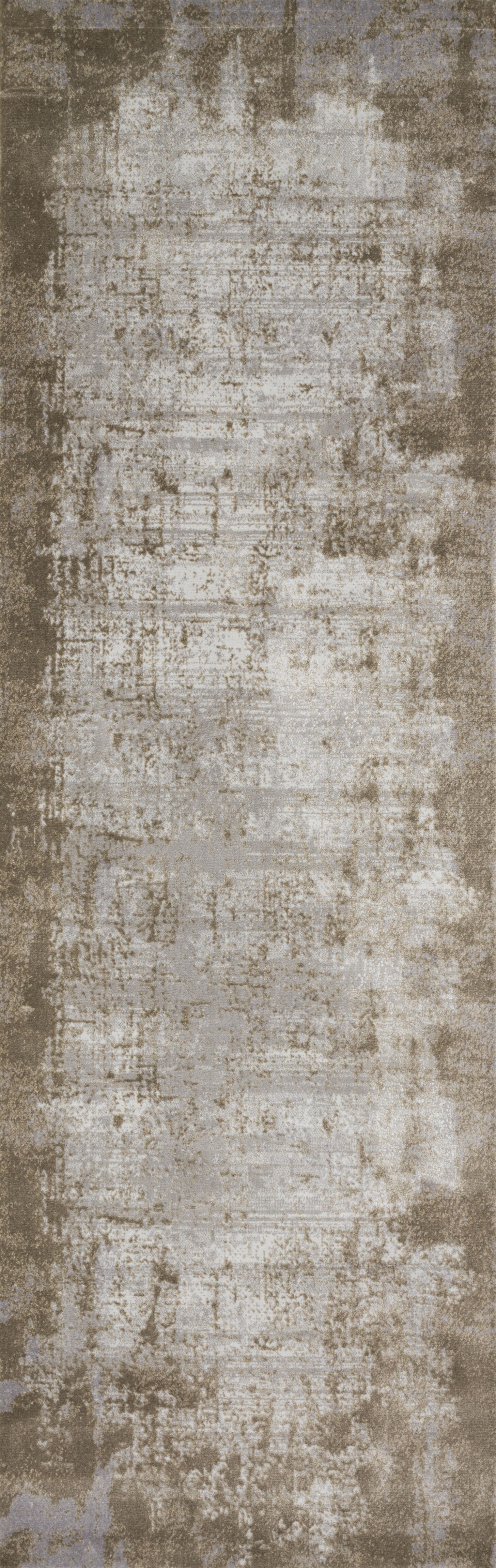 Bourque Wheat/Gray Area Rug Rug Size: Runner 2'7
